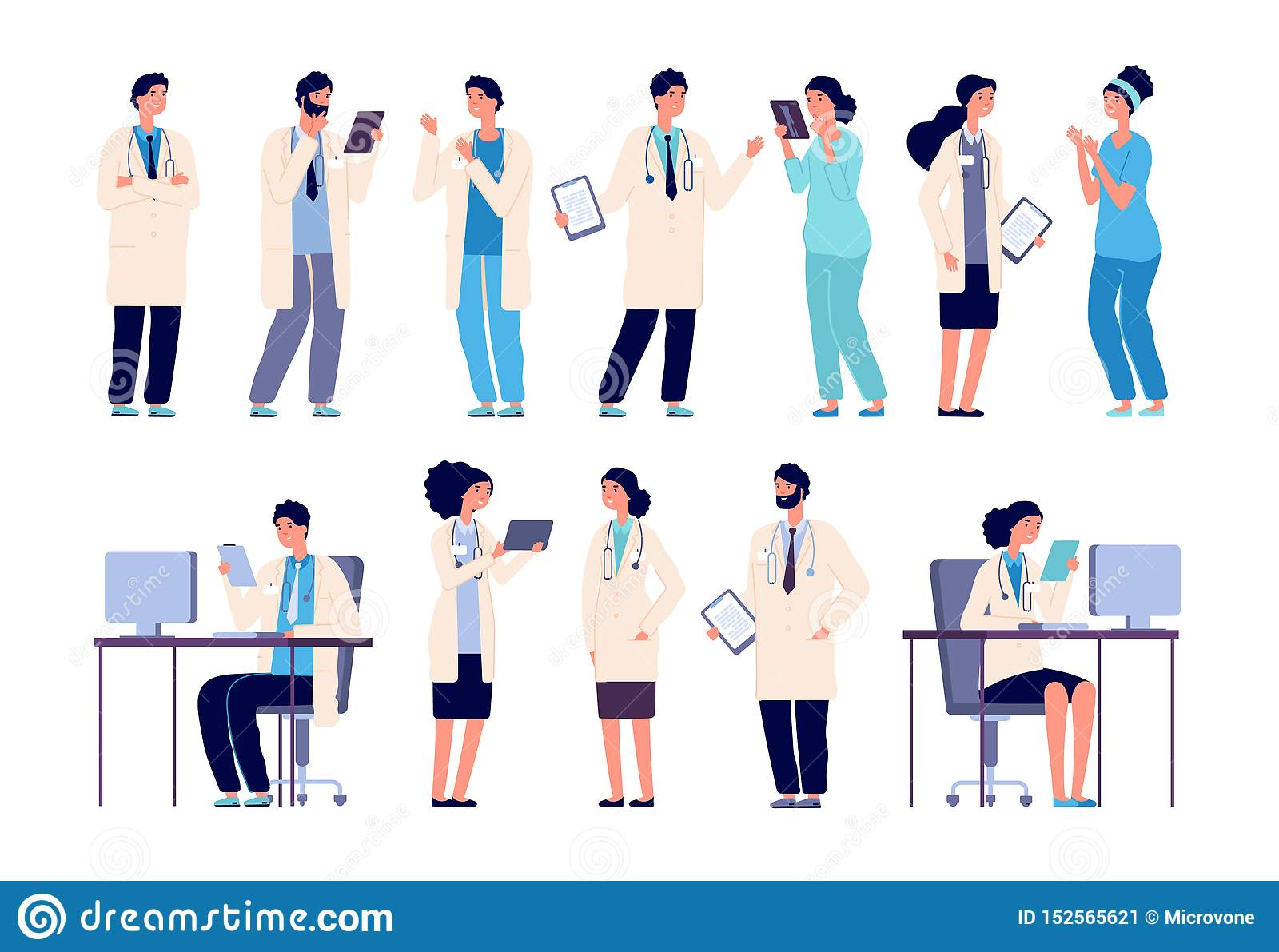 Doctor Characters  Medical Hospital Staff People  Doctor
