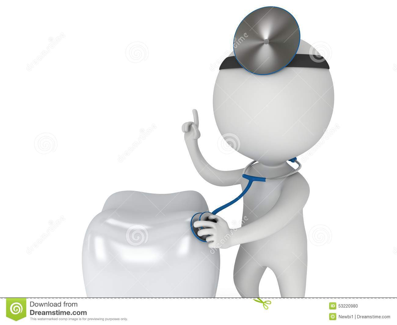 Doctor Checkup Healthy Tooth Stock Illustration - Illustration of ...