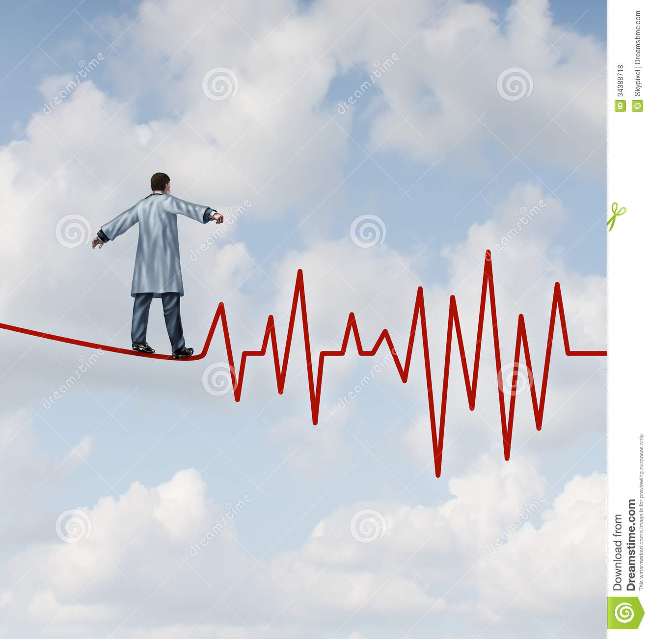Doctor Diagnosis Danger Royalty Free Stock Photos - Image: 34388718
