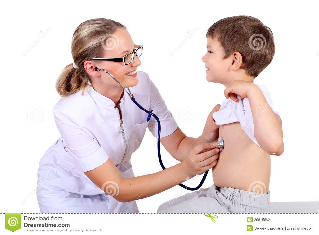 picture of female medical examination