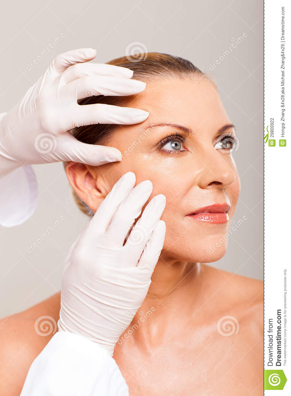 Doctor Skin Check Stock Photography Image 29800922
