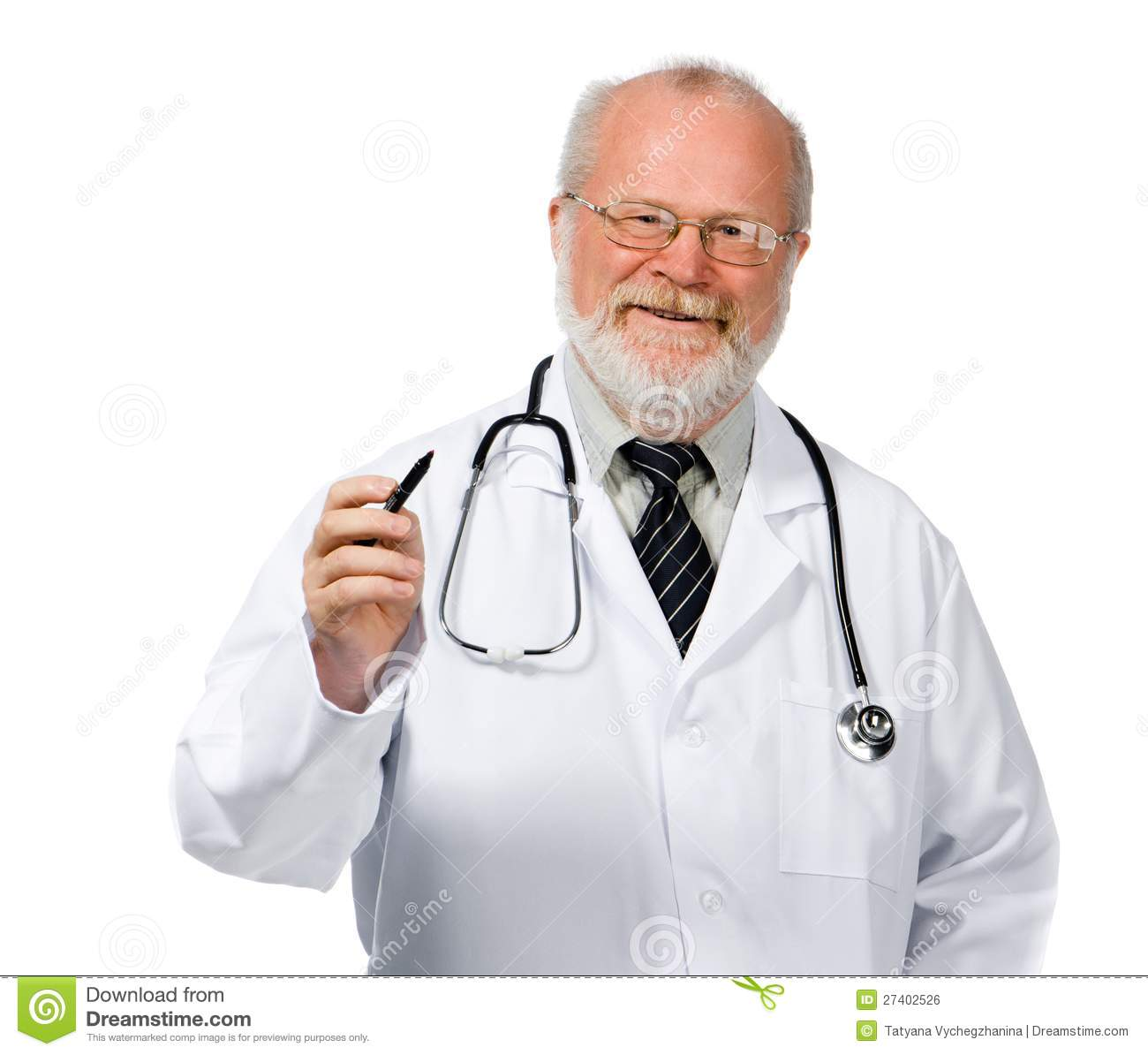 Doctor Drawing Heart Royalty Free Stock Image - Image: 27402526