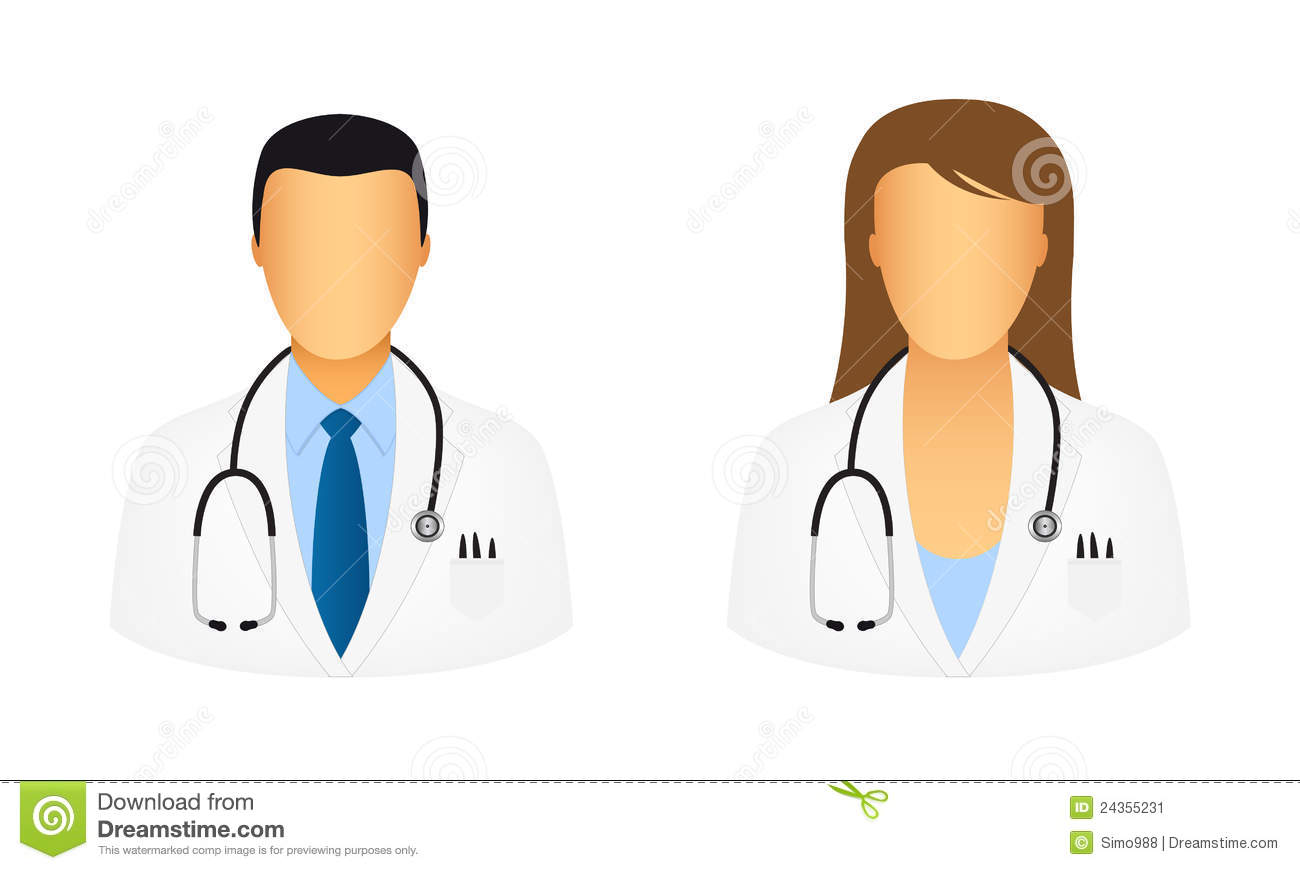 Doctor Icons Stock Image - Image: 24355231