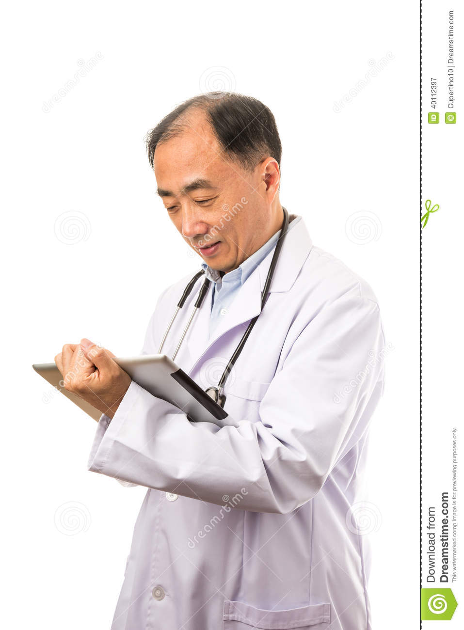 Really. And Asian male doctor think