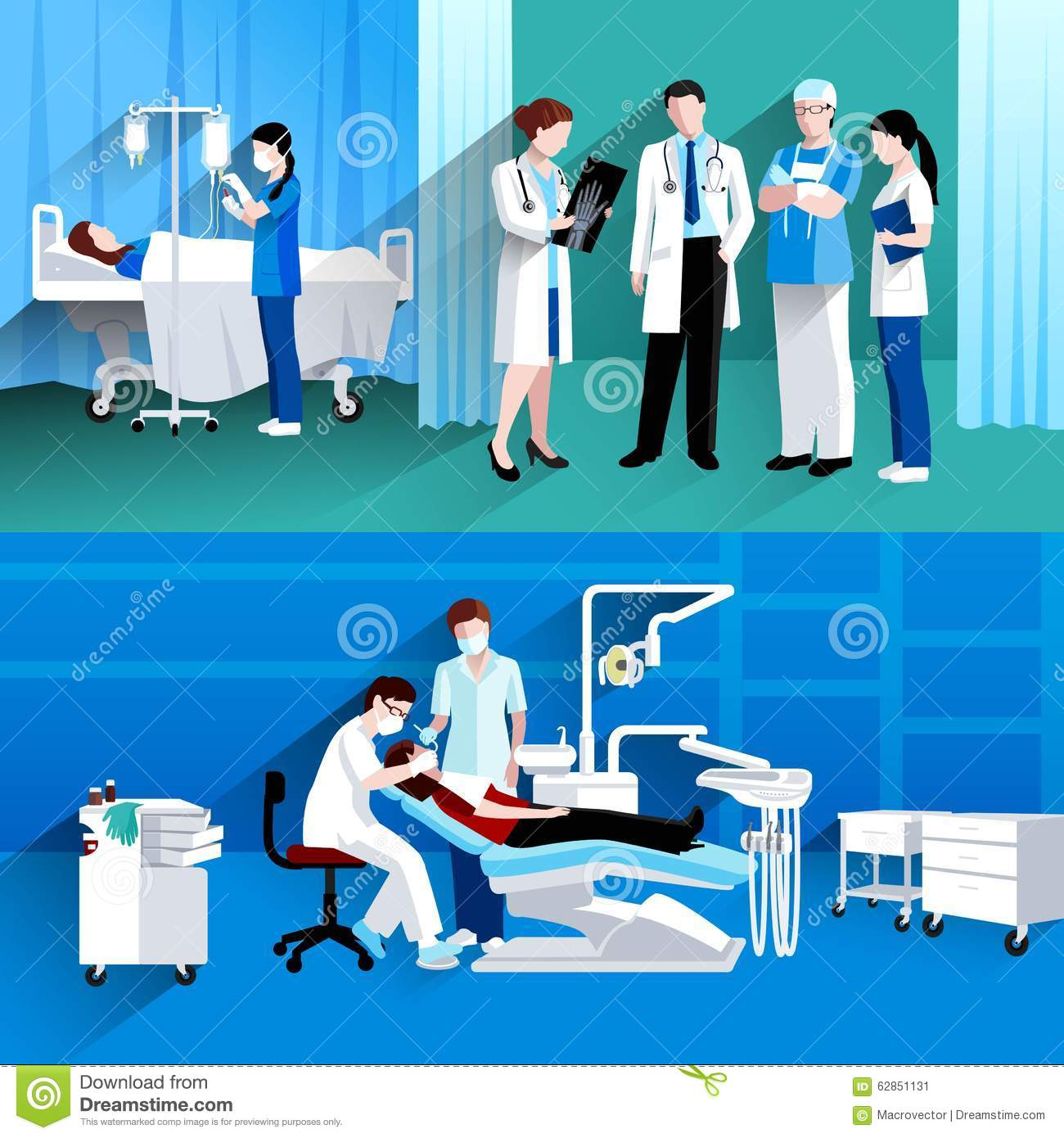 Doctor Consultation Banners Beauty Fashion Banners