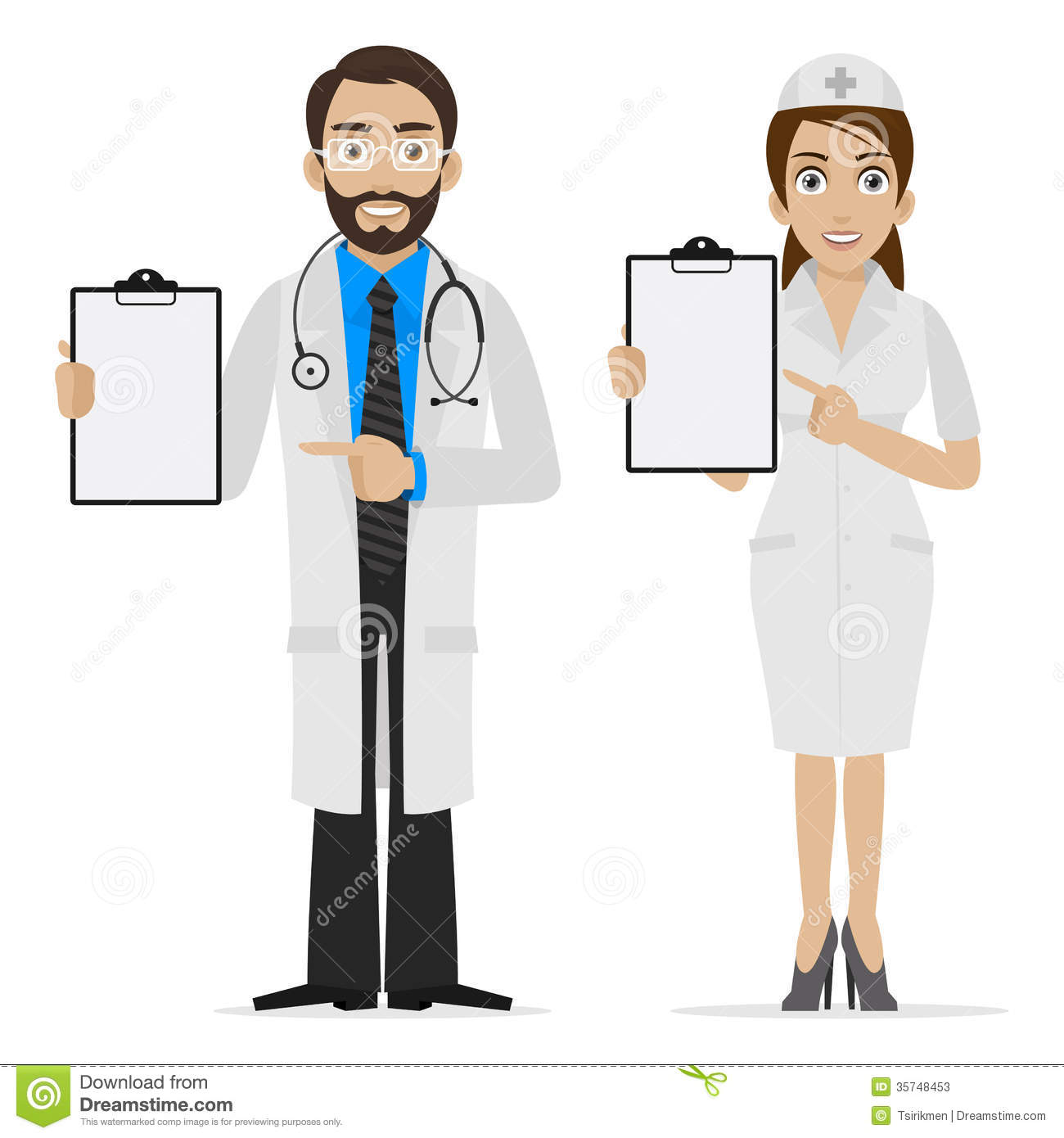 Things To Do In Hospital When Bored Nurse And Doctor Clipart