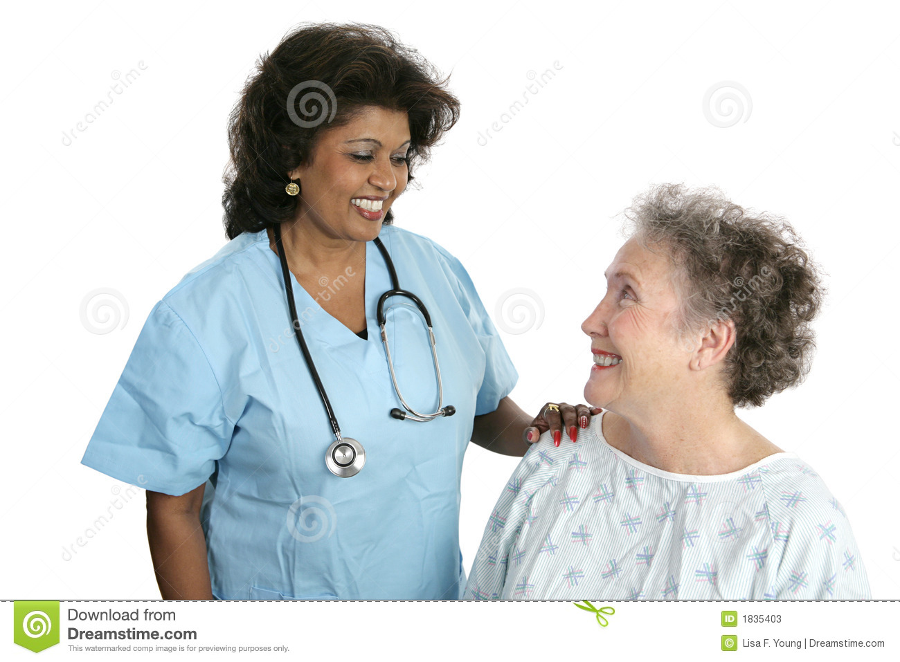 Doctor Patient Relationship Stock Image