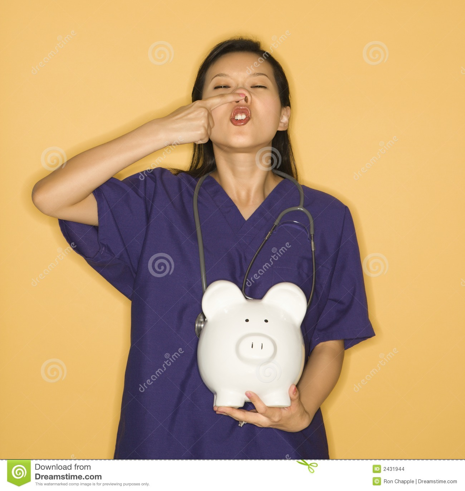 Asian piggy doctor