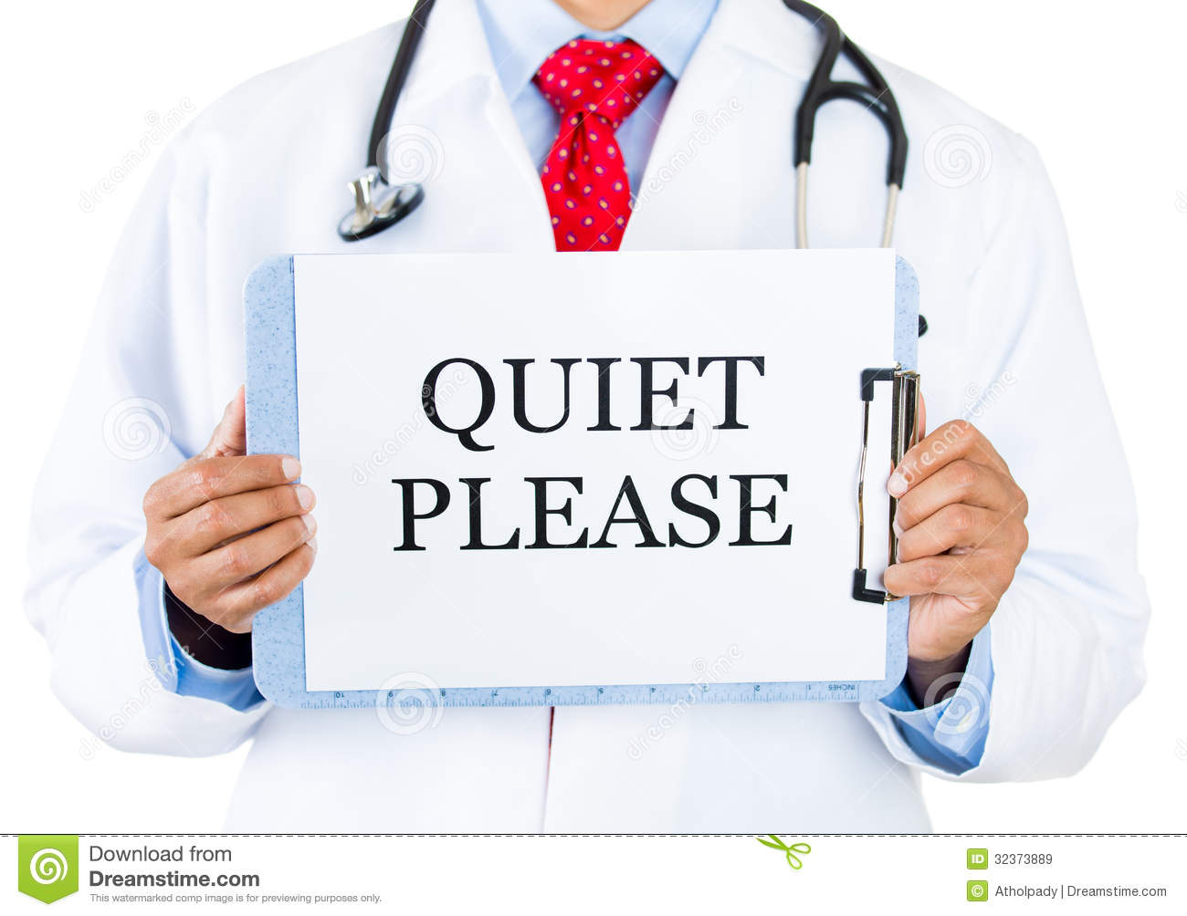 Quiet Please Sign Doctor-quiet please Royalty