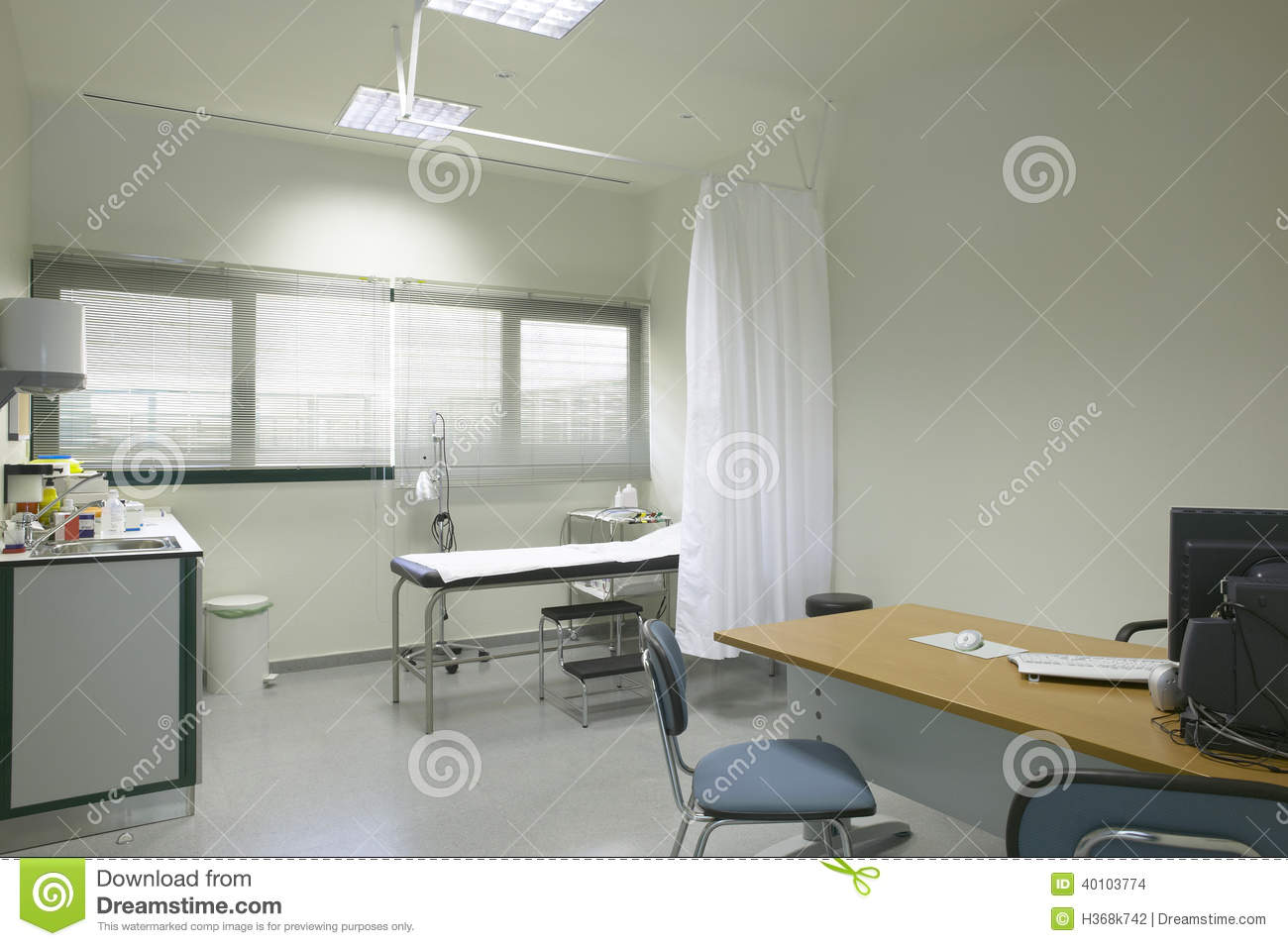 Doctor Room Interior With Equipment And Furniture Stock Photo Image 40103774