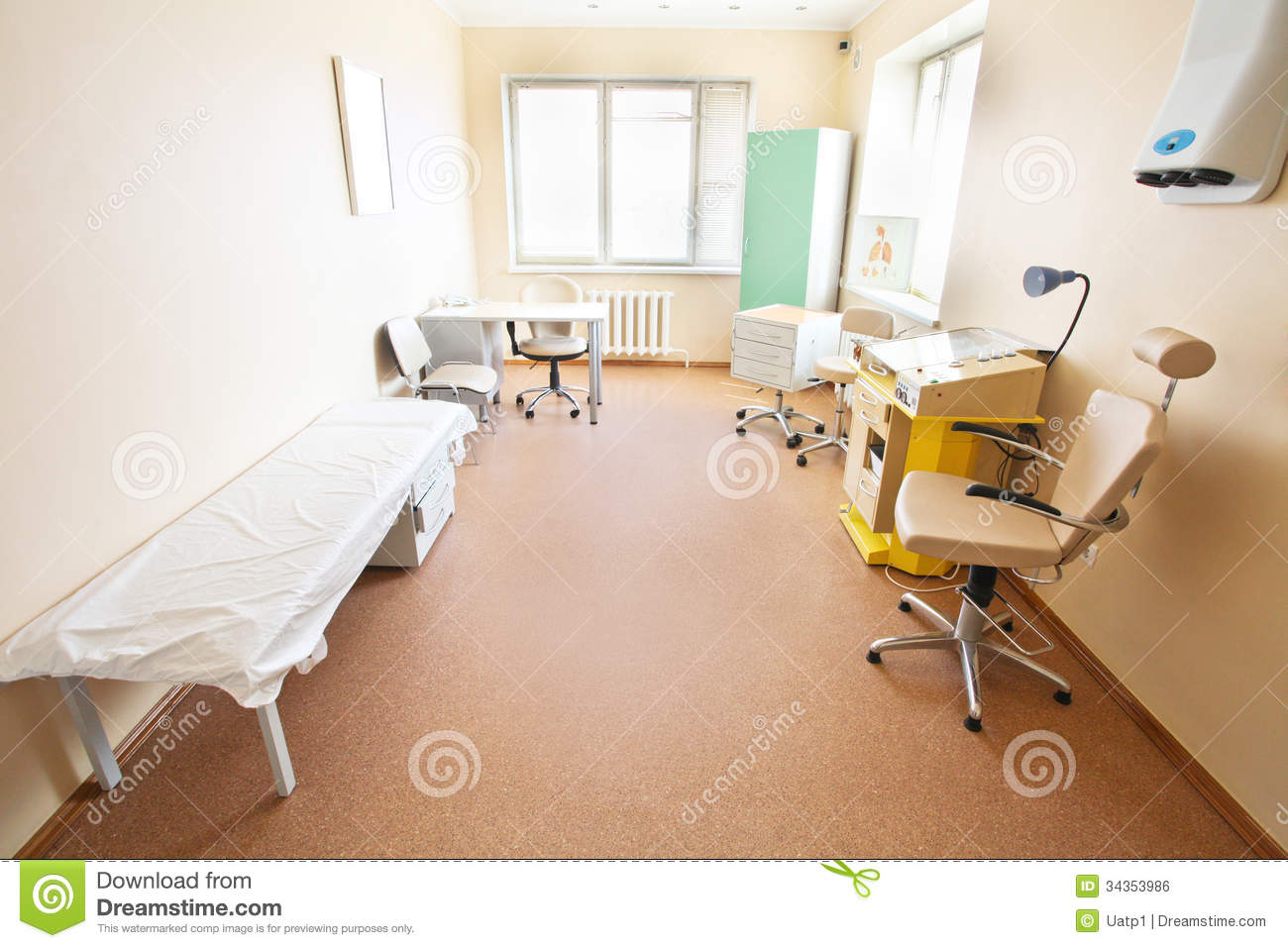 Furniture In Hospital Rooms