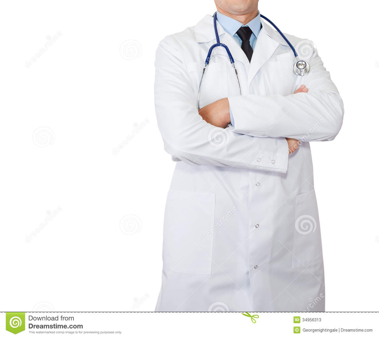 Doctor's Lab White Coat Stock Photos - Image: 34956313