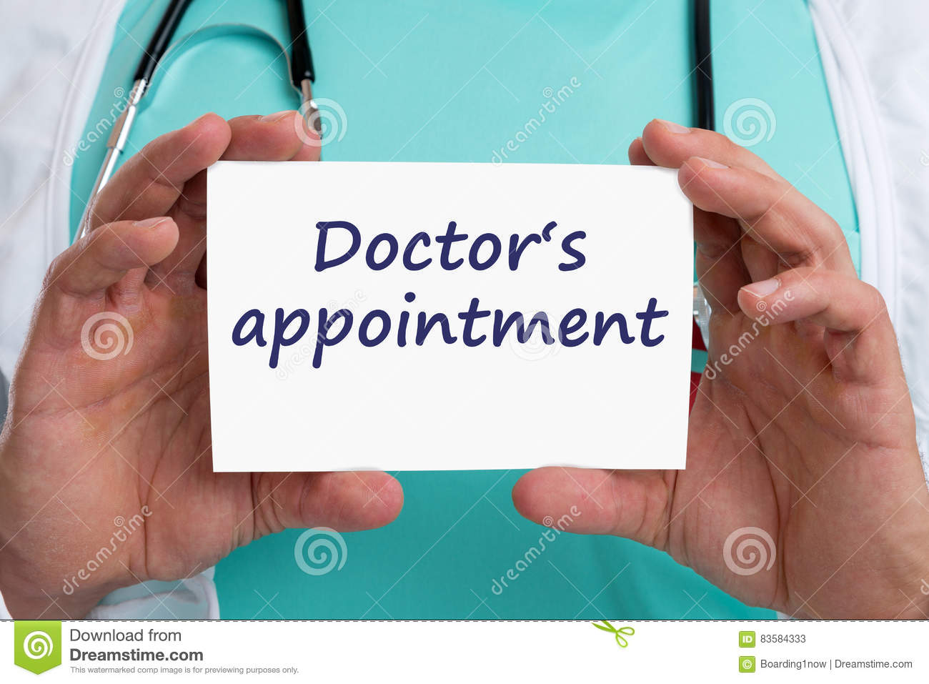 how to make an appointment with doctor for depression