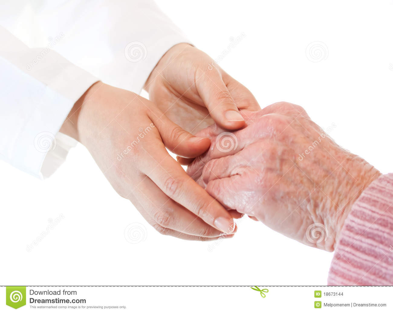 Doctor and Senior s Hands