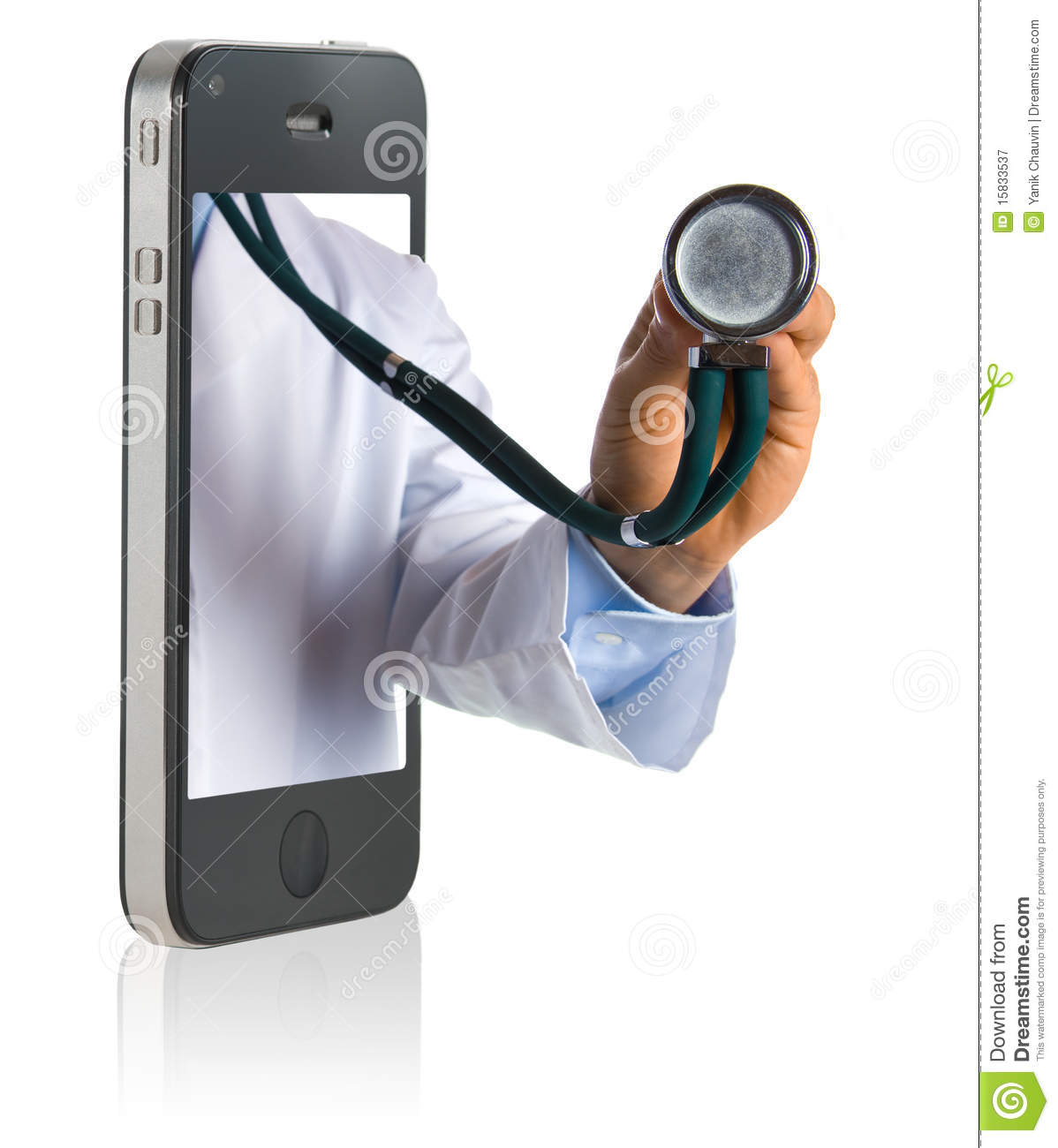 Doctor on Smart Phone