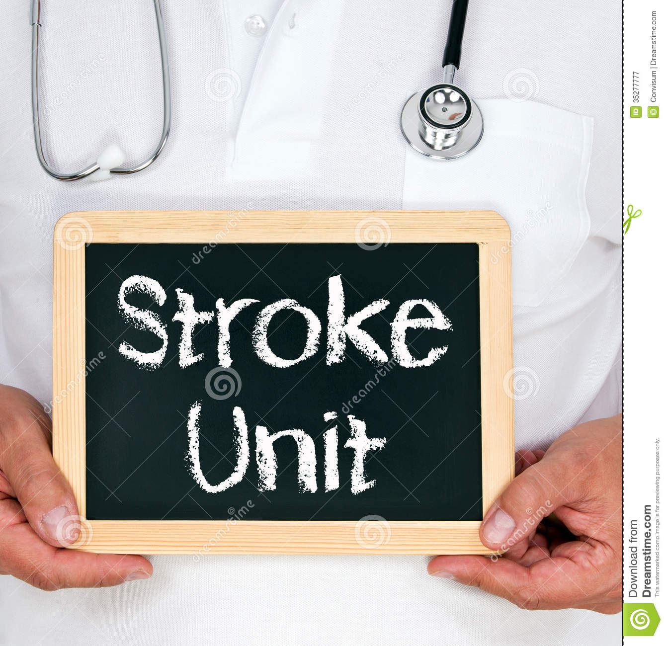 Doctor With Stroke Uni...
