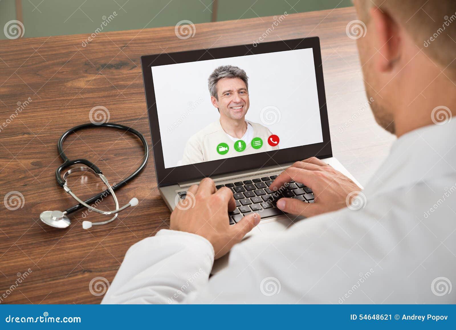 Men video chat
