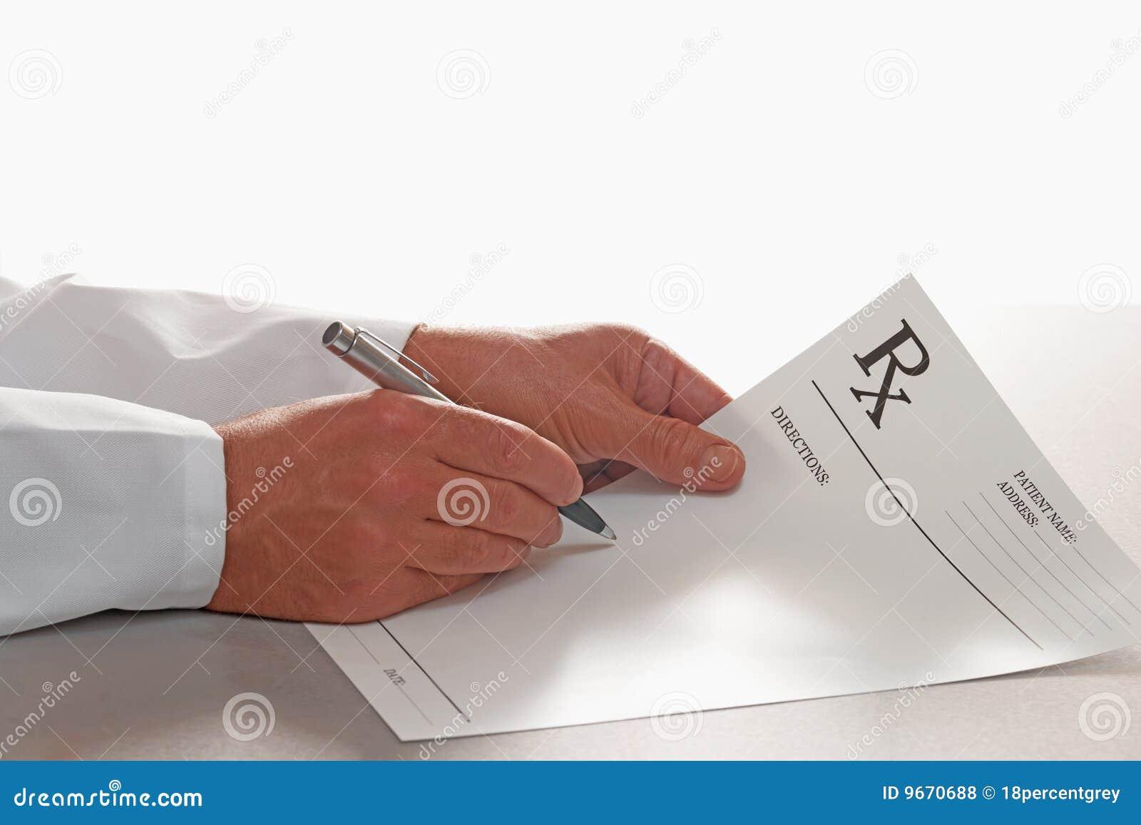 doctor write a prescription online