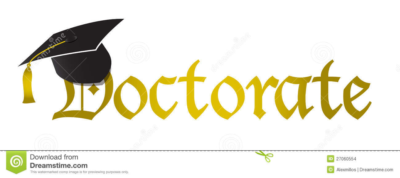 Doctorate Hat Graduation Illustration Stock Images Image