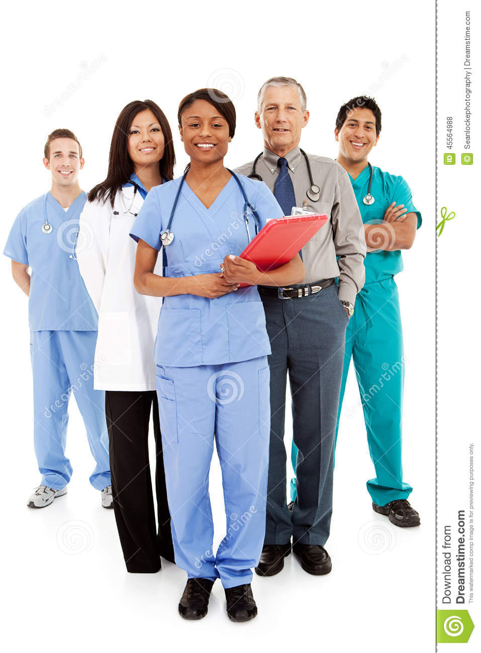 Managing professionals working with physicians