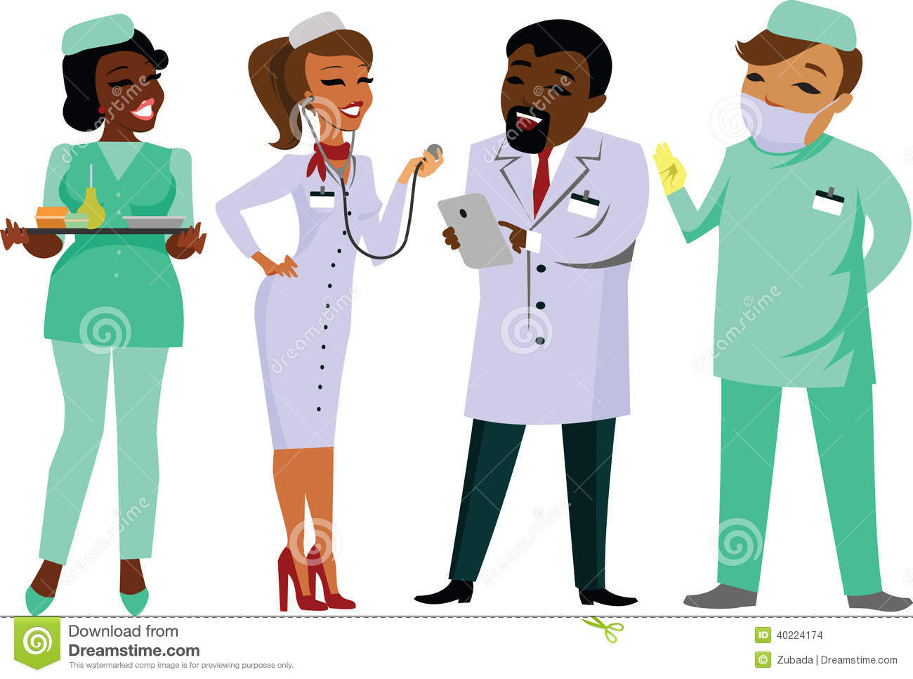 Group Of Doctors Clipart Doctors Stock Images