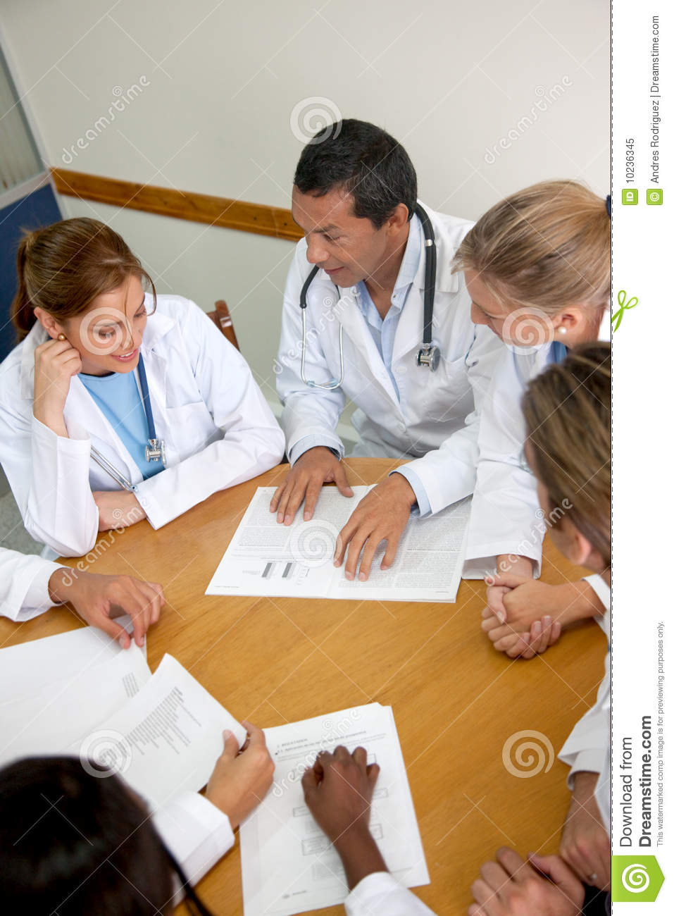 doctors meeting stock image  image of american  reunion