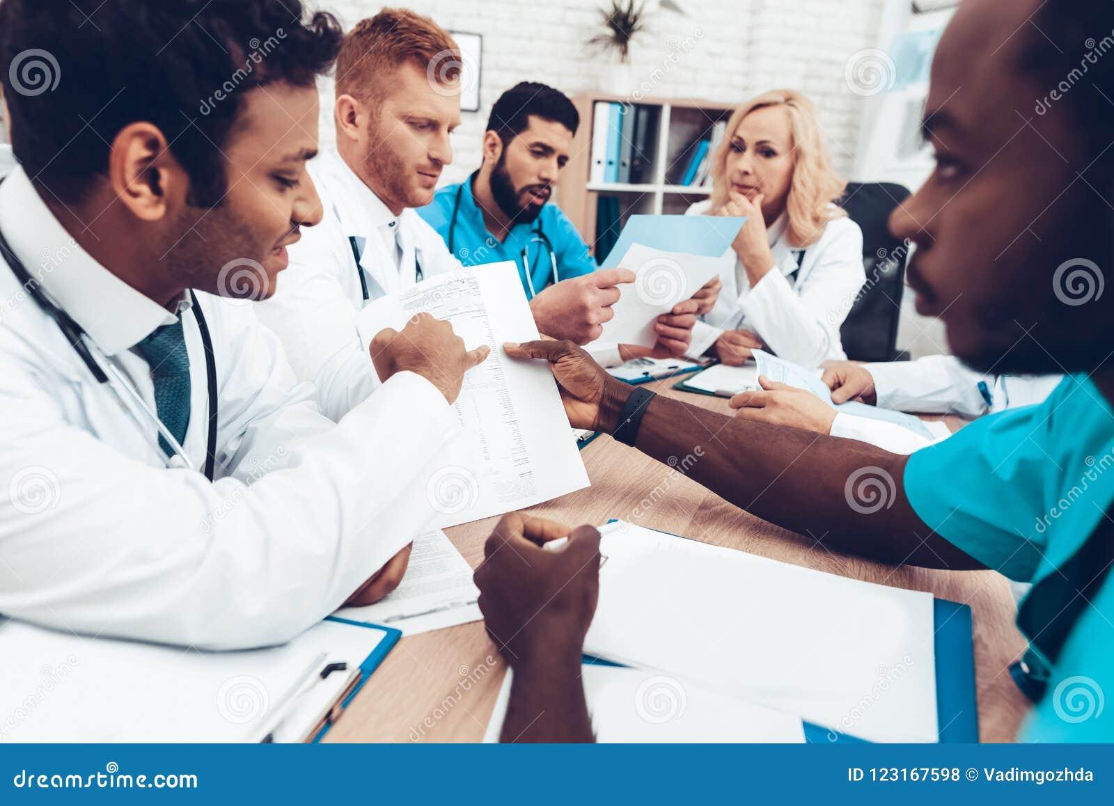 Multinational Doctors Group Diagnostic Meeting.
