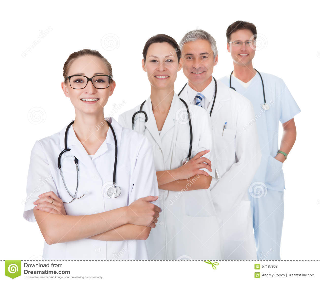 Doctors And Nurses Stock Photo. Image Of Discussion