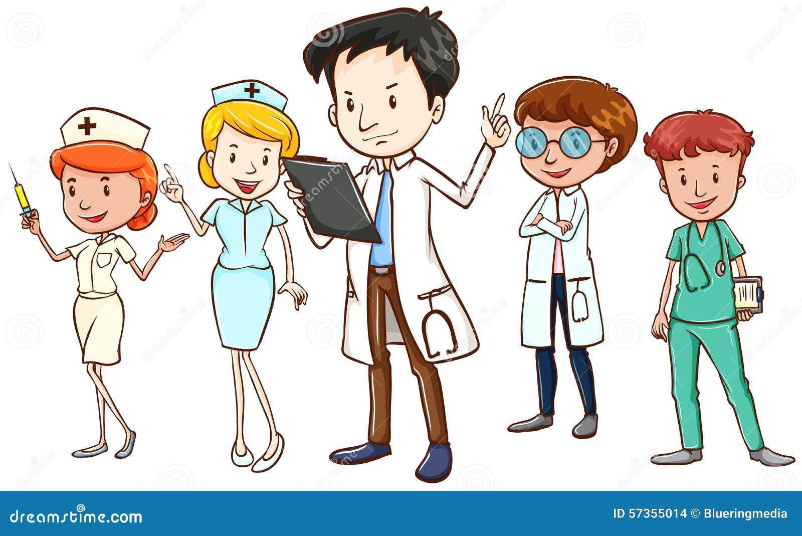 2 doctors team up on blonde milf 10