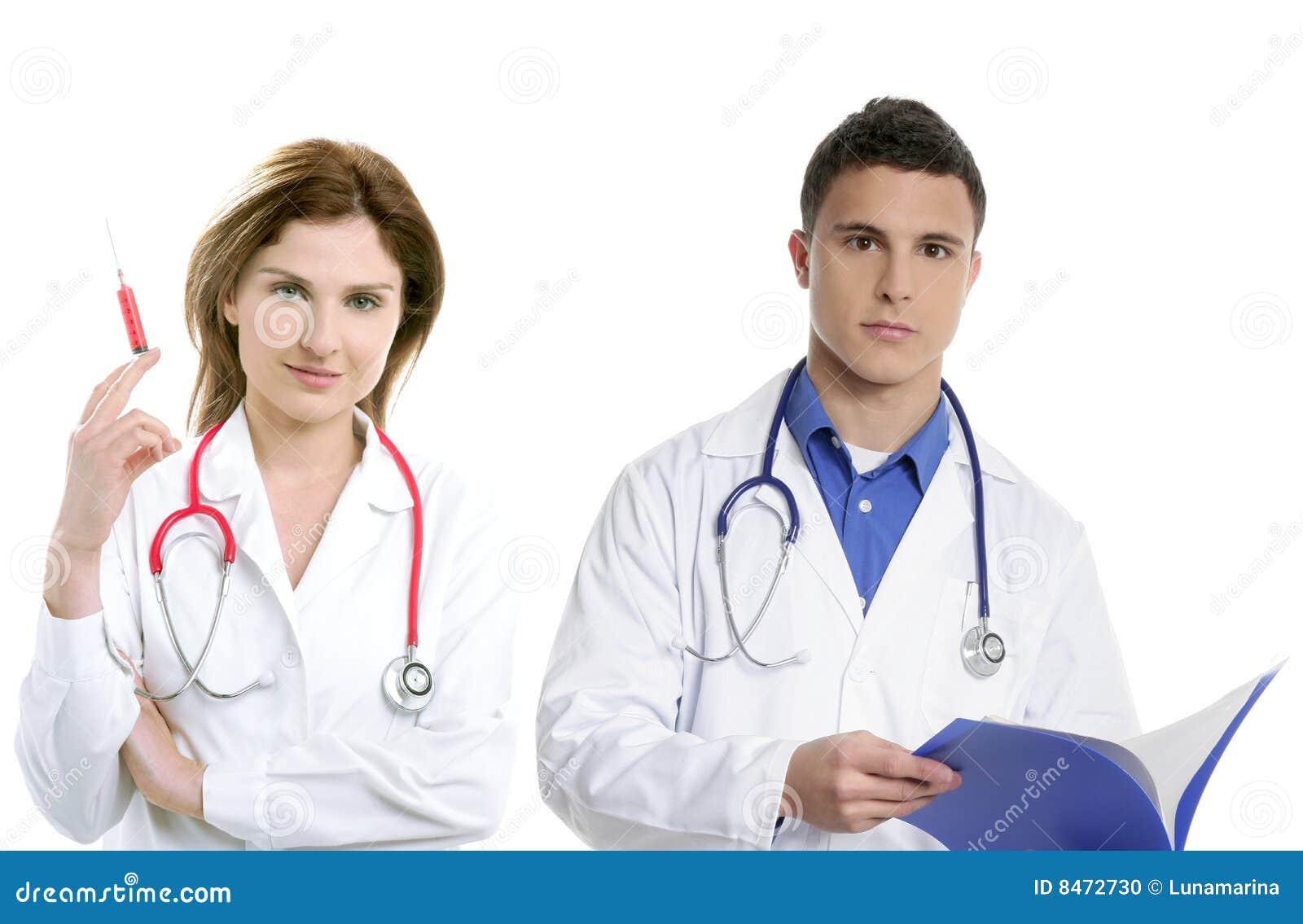 Doctors teamwork för hälsofolkprofessionell