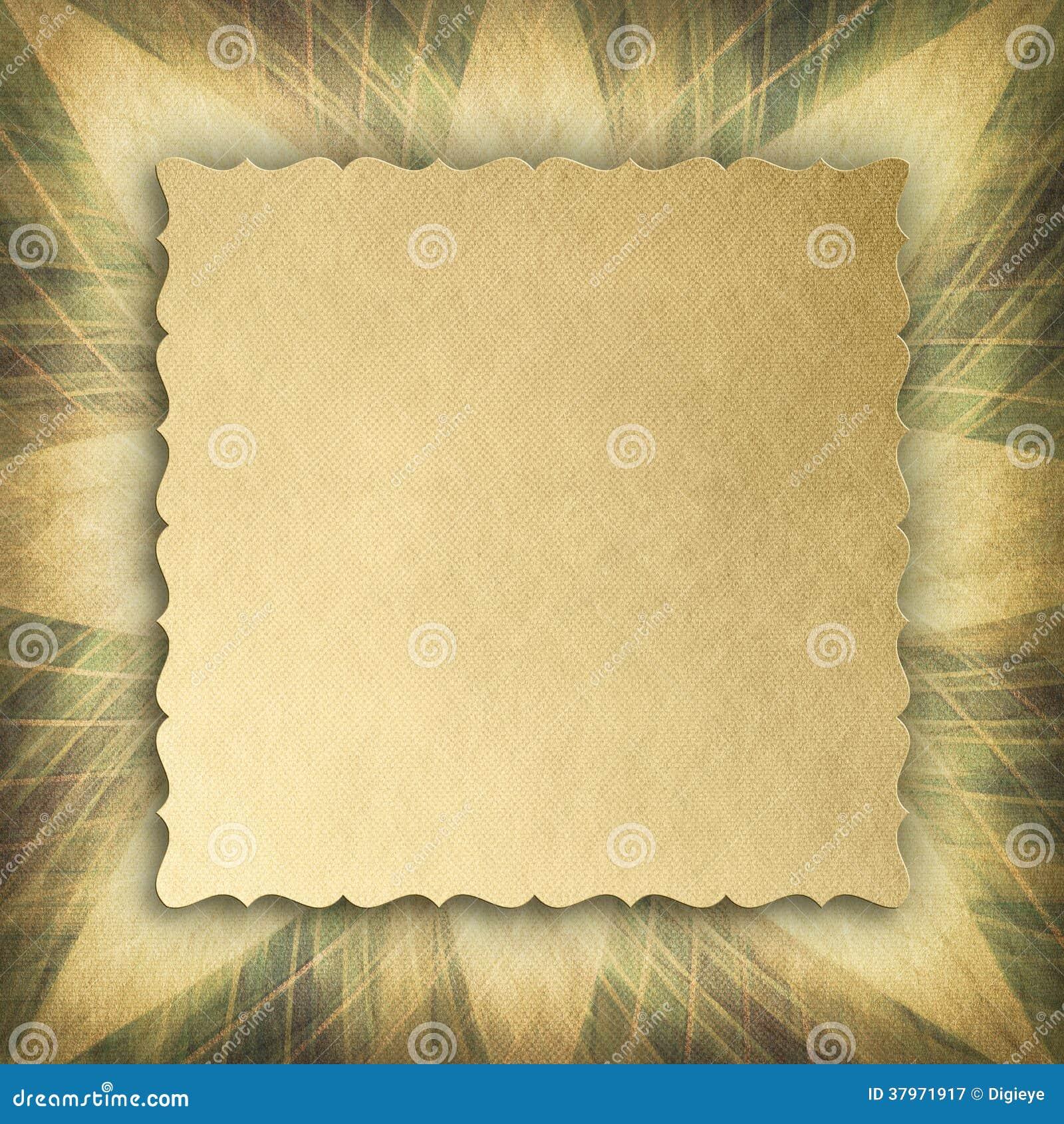 Document blad op samenvatting gevormde achtergrond