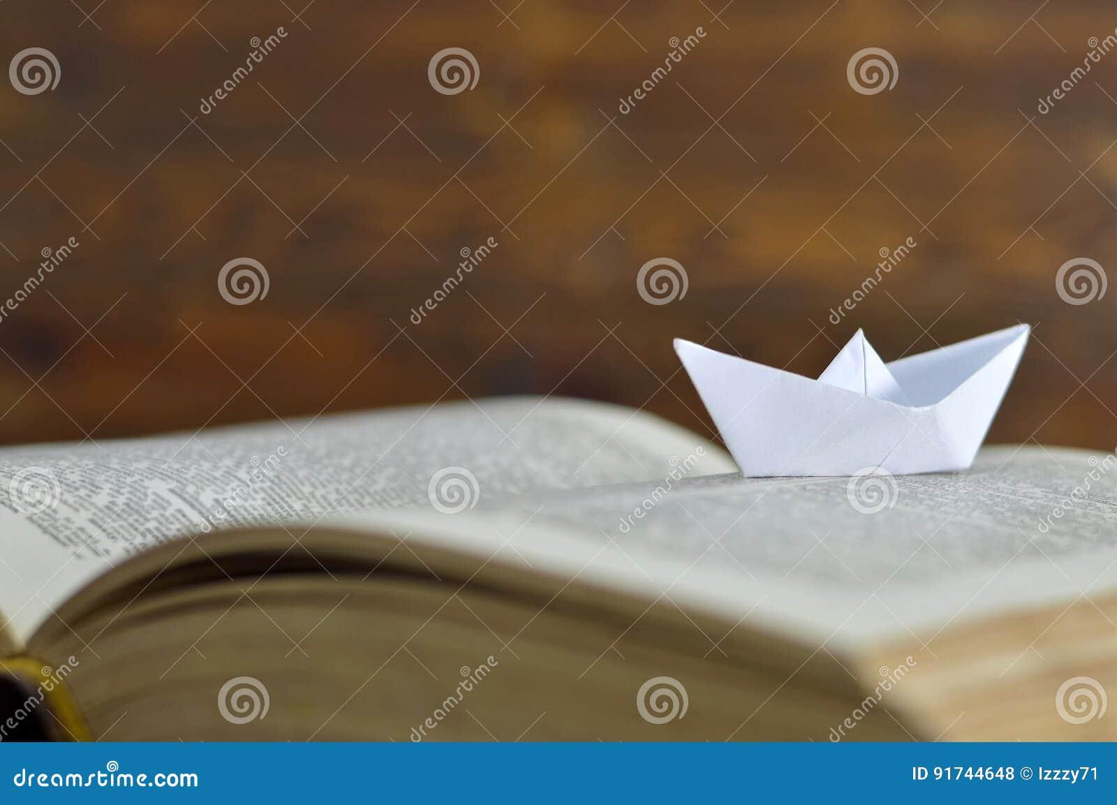 Document boot op het boek