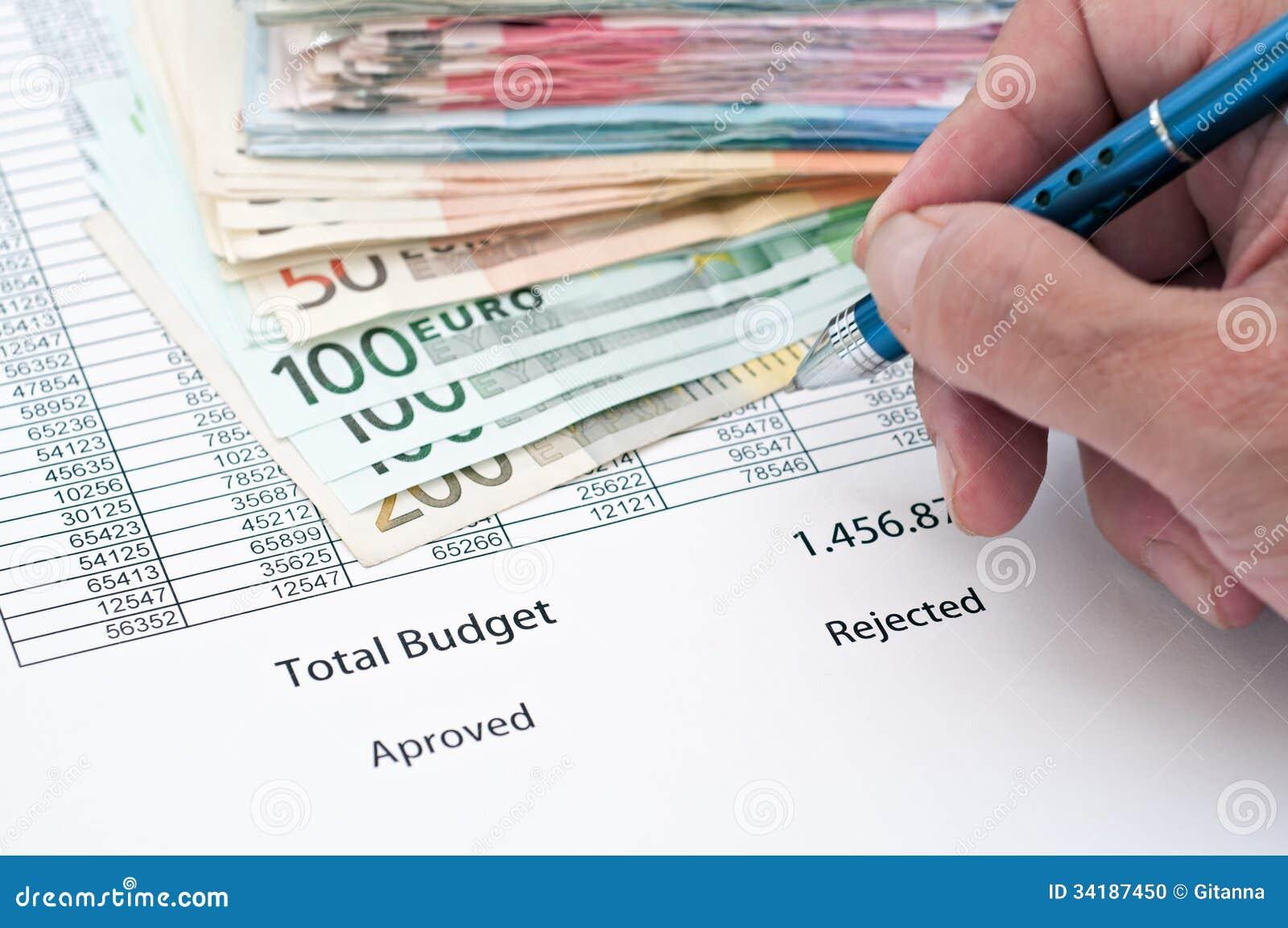 Budget detail