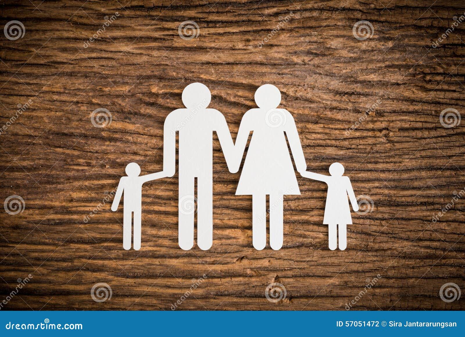 Document kettingsfamilie het symboliseren