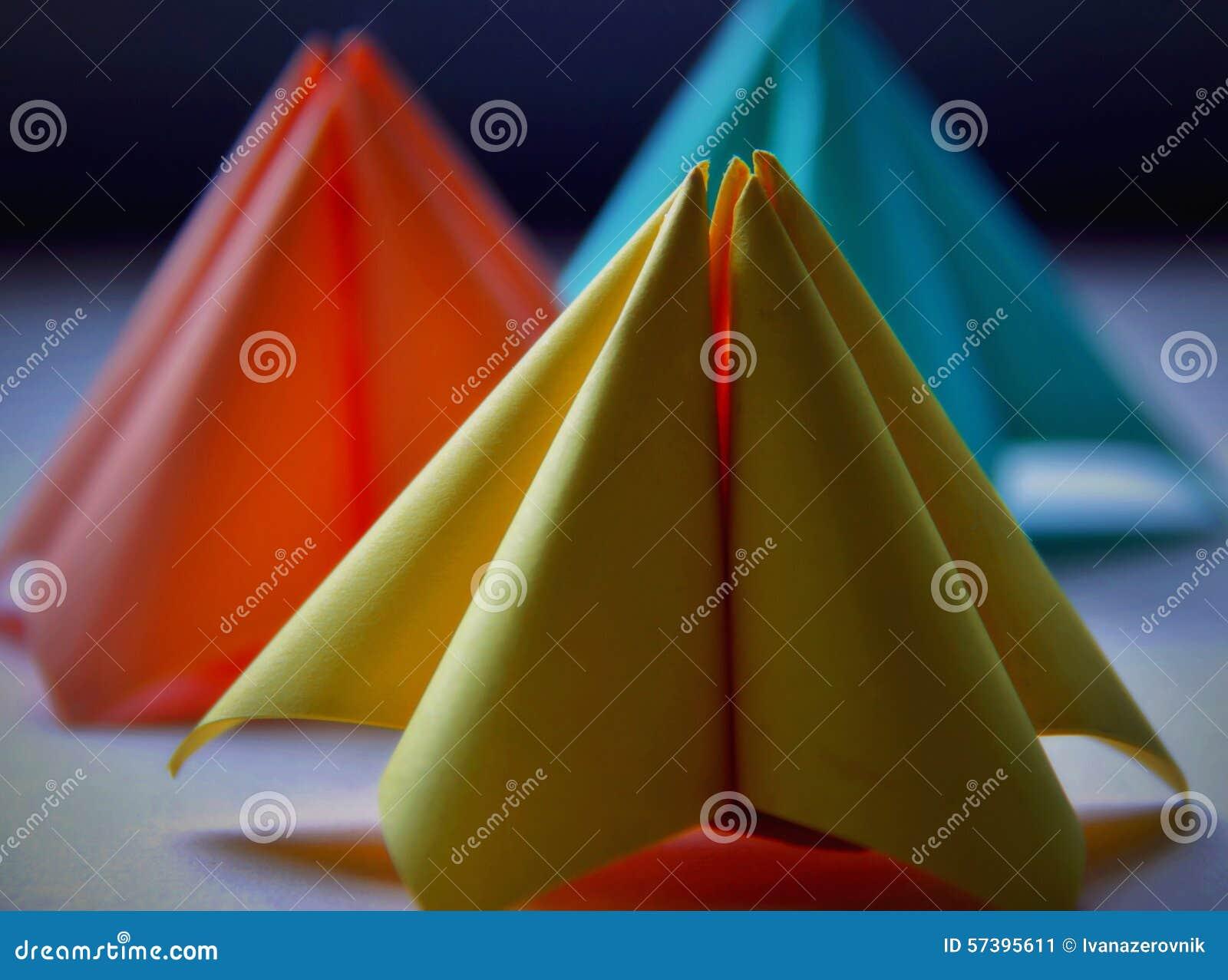 Document vormen in pastelkleuren