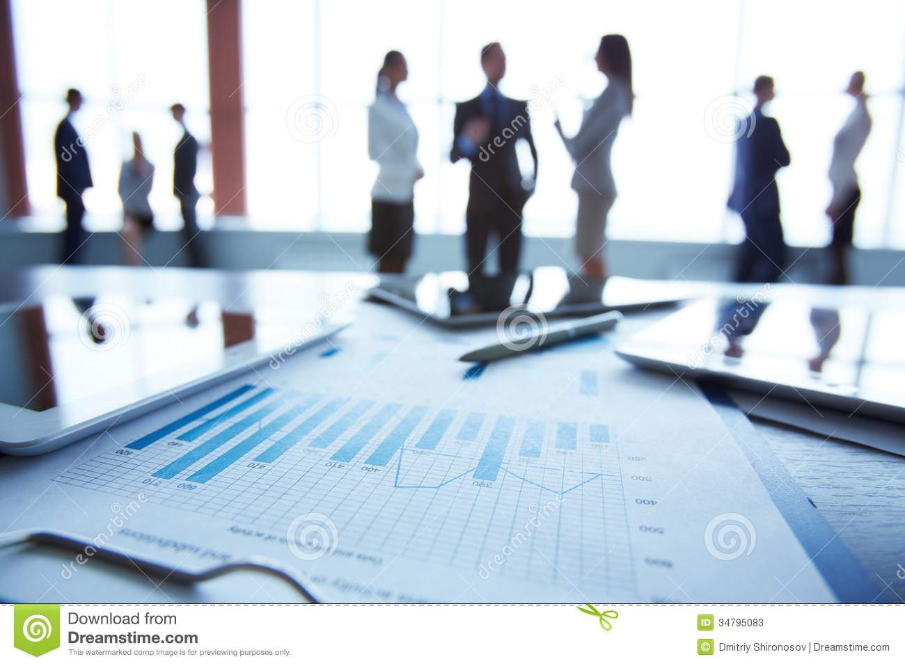 Document At Workplace Stock Photos Image 34795083