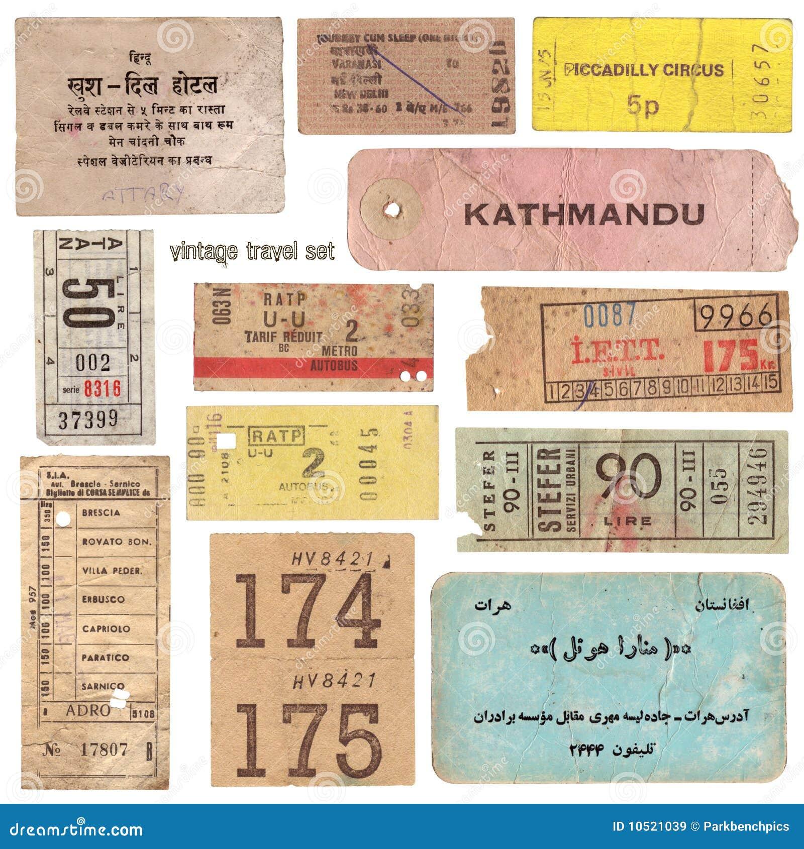 Documenti di viaggio dell annata