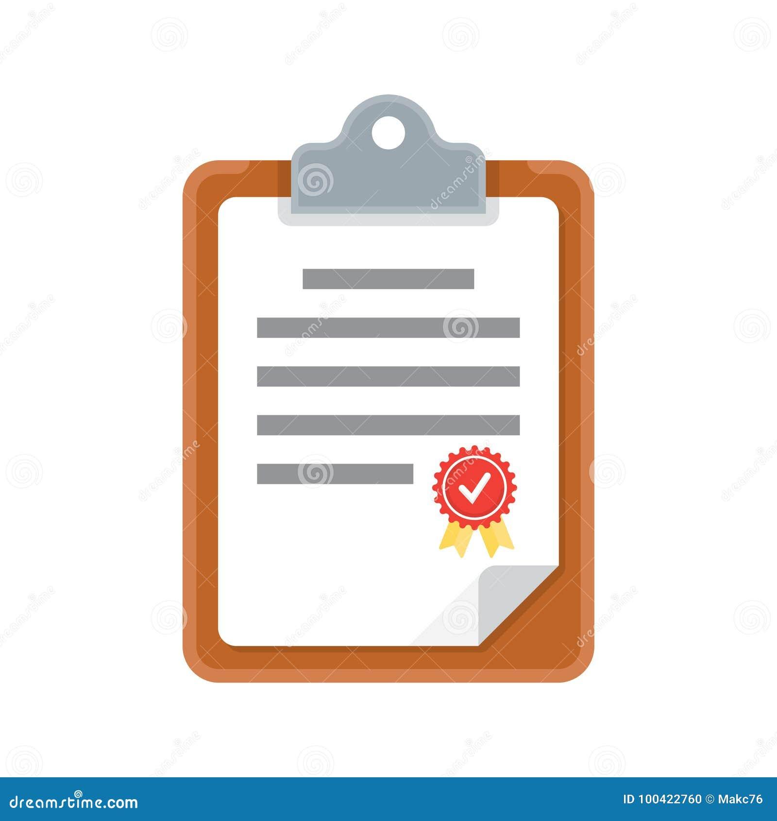 Documento della lavagna per appunti, icona