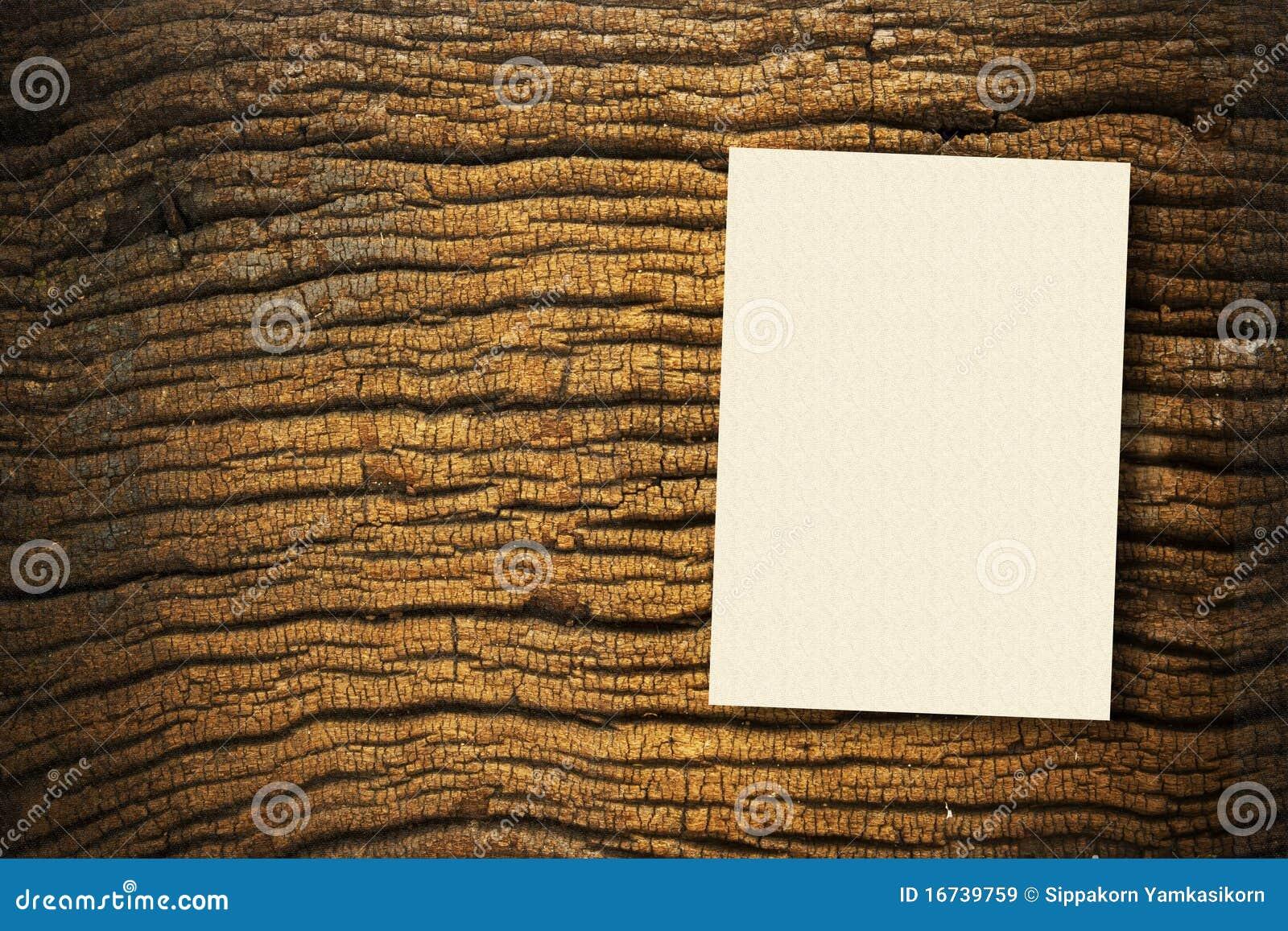 Documento su legno