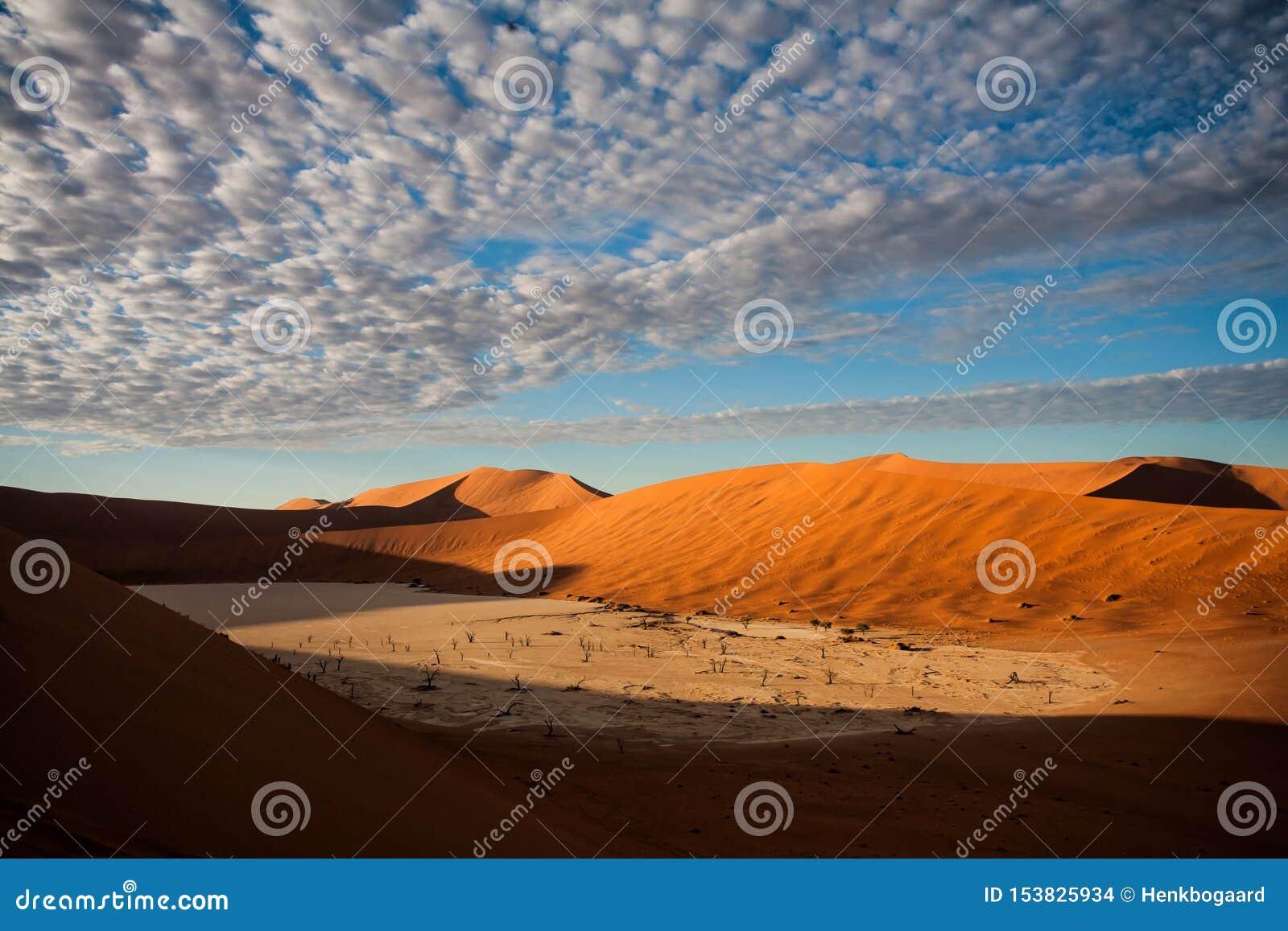 Dode Vlei dichtbij Sossusvlei in Nambia