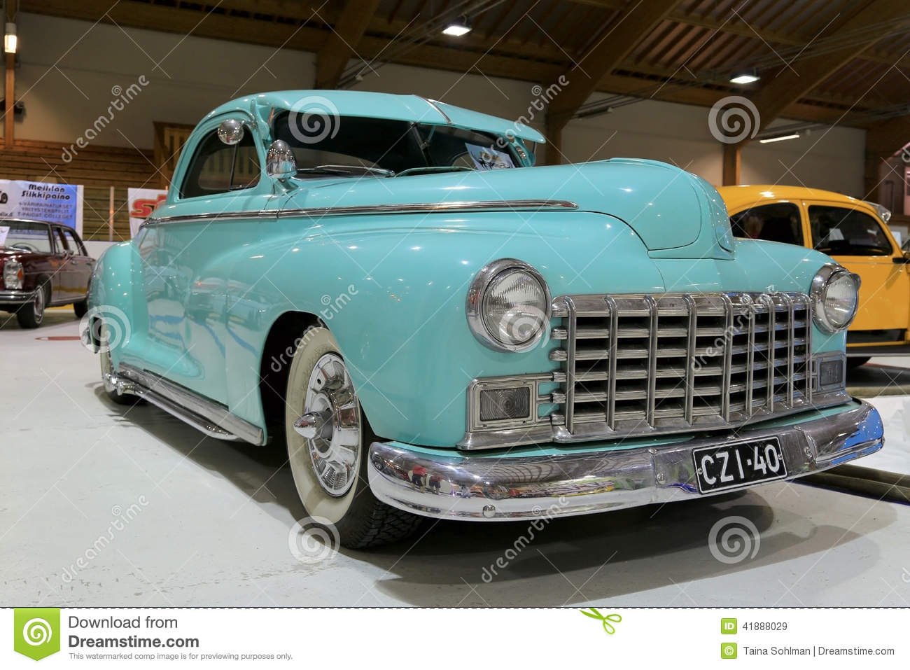 Dodge Business Coupe 1946 Classic Car Editorial Stock