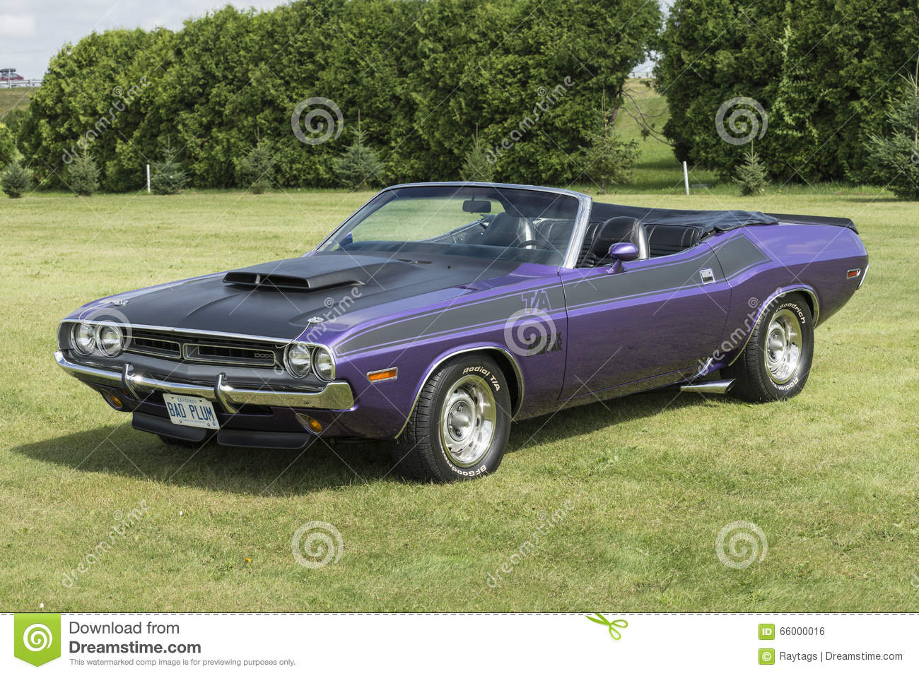 Dodge Challenger Convertible Editorial Image