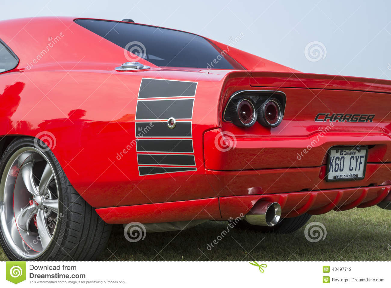 Dodge Charger Rear End Editorial Photography Image 43497712
