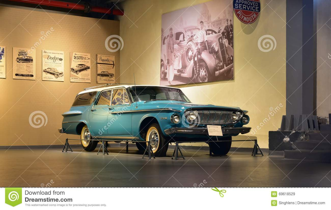 Dodge Dart 8 440 Station Wagon 1962 Model In Heritage Transport Museum In Gurgaon Haryana India Editorial Stock Image Image Of Building Automobiles 69618529