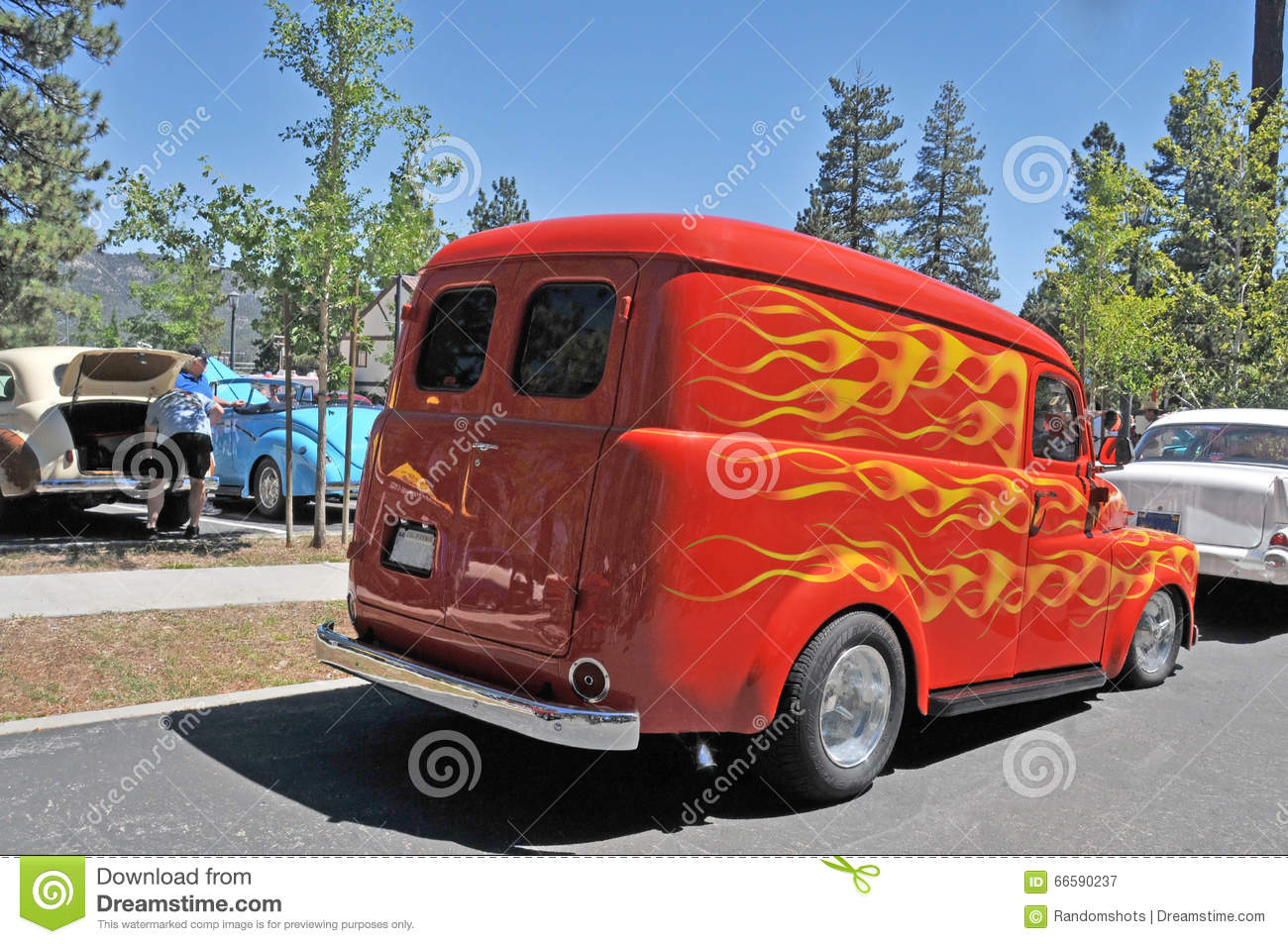 78b49f9acd Dodge Delivery Van editorial photography. Image of transportation ...