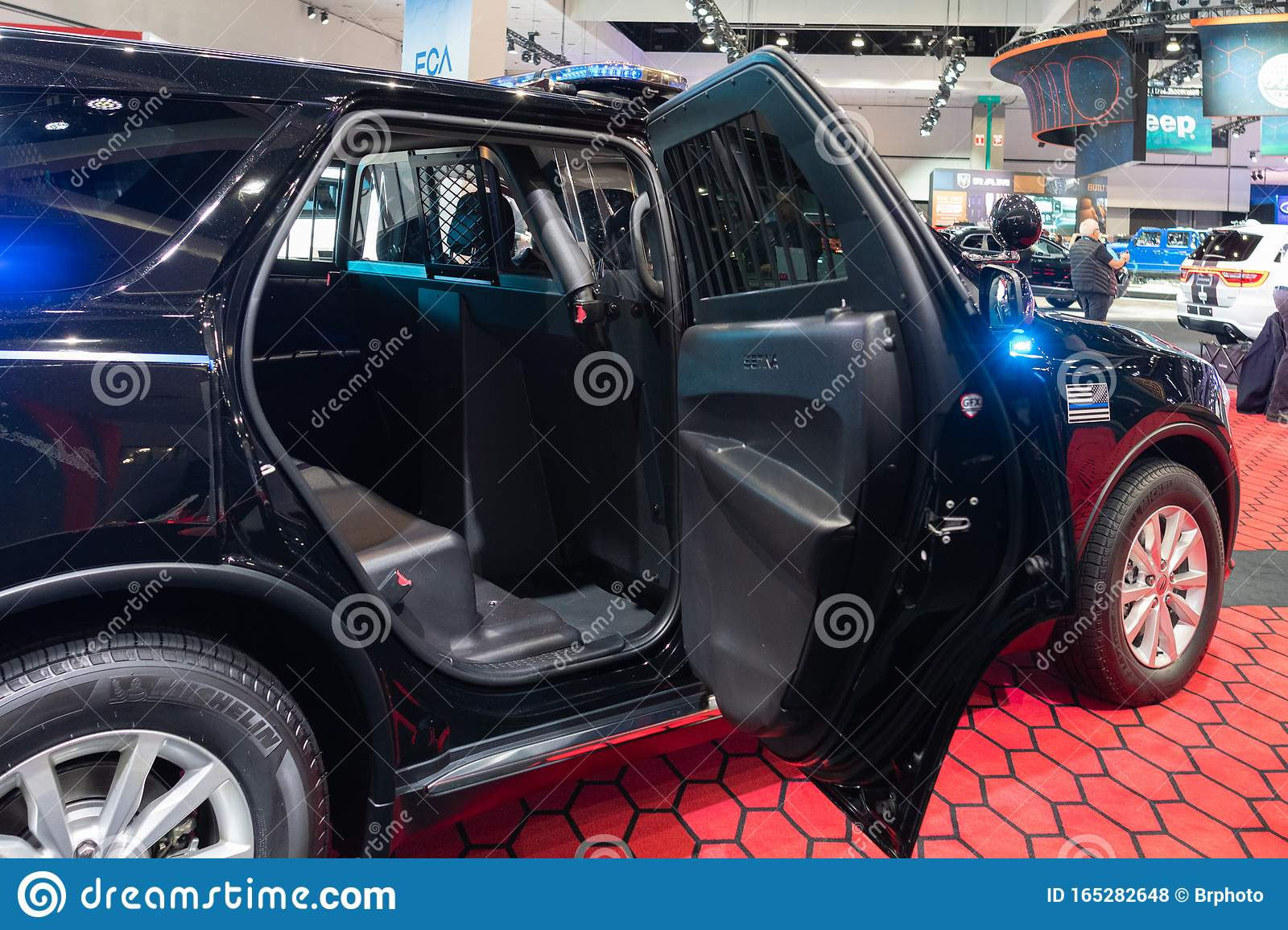 Dodge Durango Pursuit On Display During Los Angeles Auto Show Editorial Stock Photo Image Of Cars Drive 165282648