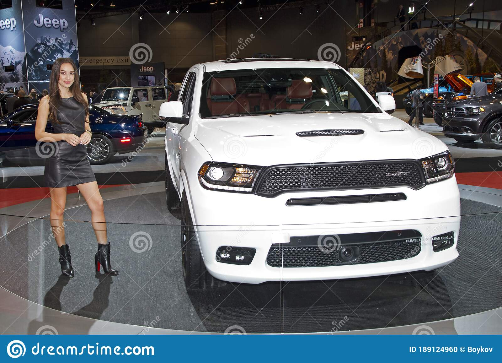 Dodge Durango Srt At The Annual International Auto Show February 11 2017 In Chicago Il Editorial Image Image Of Design Autoshow 189124960