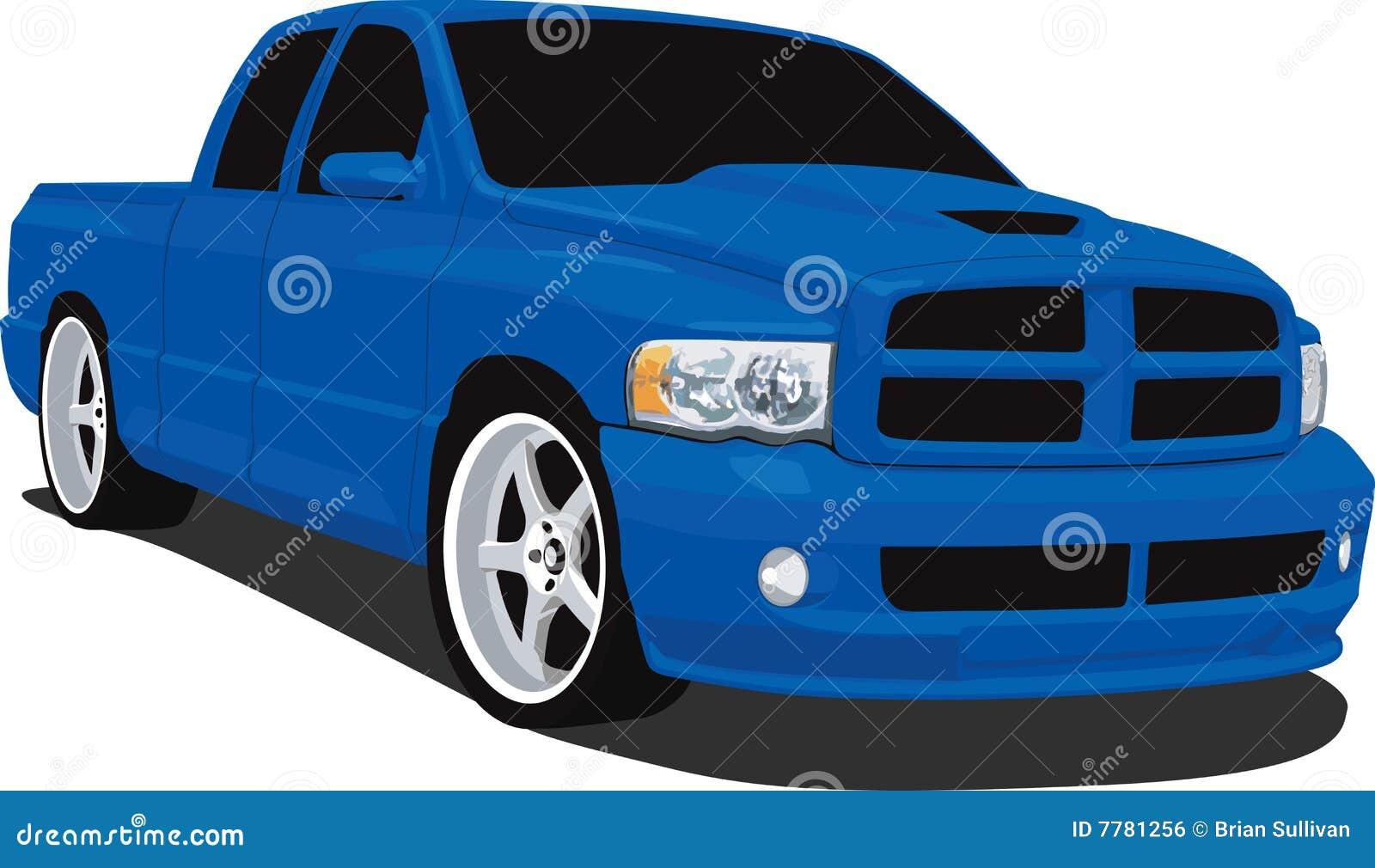 Dodge ram pick up truck royalty free stock image