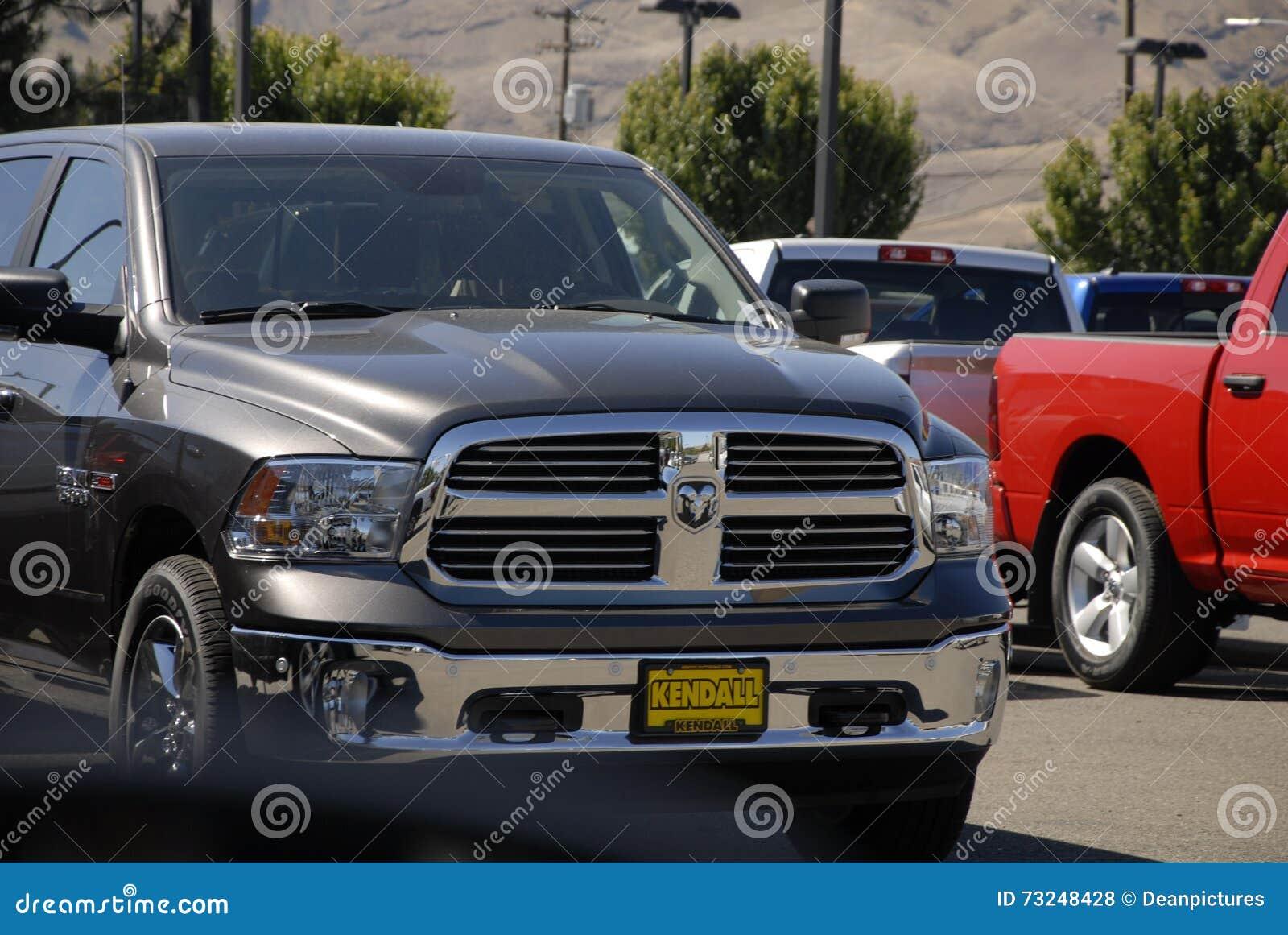 Dodge Ram Pickups Editorial Stock Photo Image Of Dealer 73248428