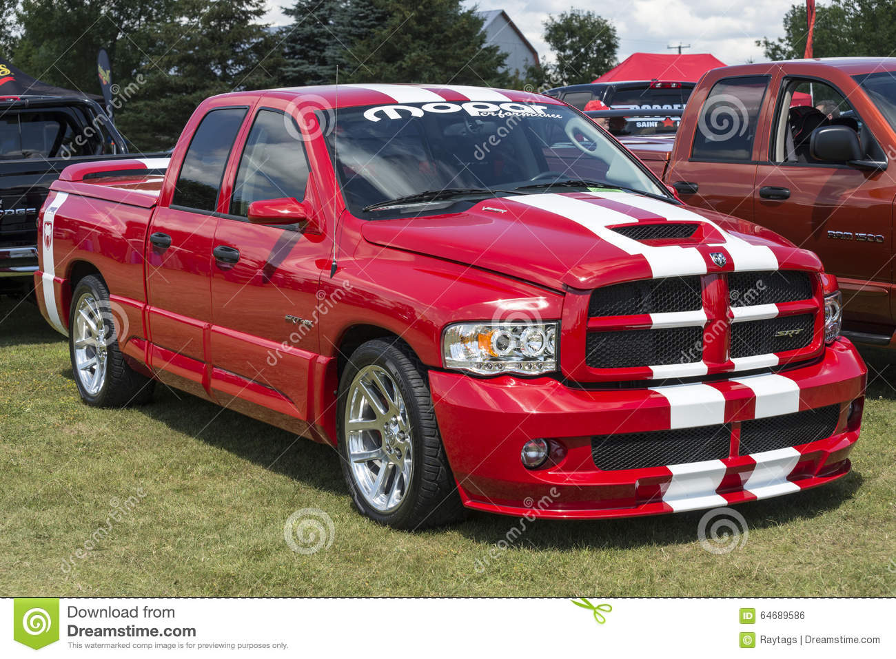 dodge ram truck editorial photo image of picture modern 64689586. Black Bedroom Furniture Sets. Home Design Ideas